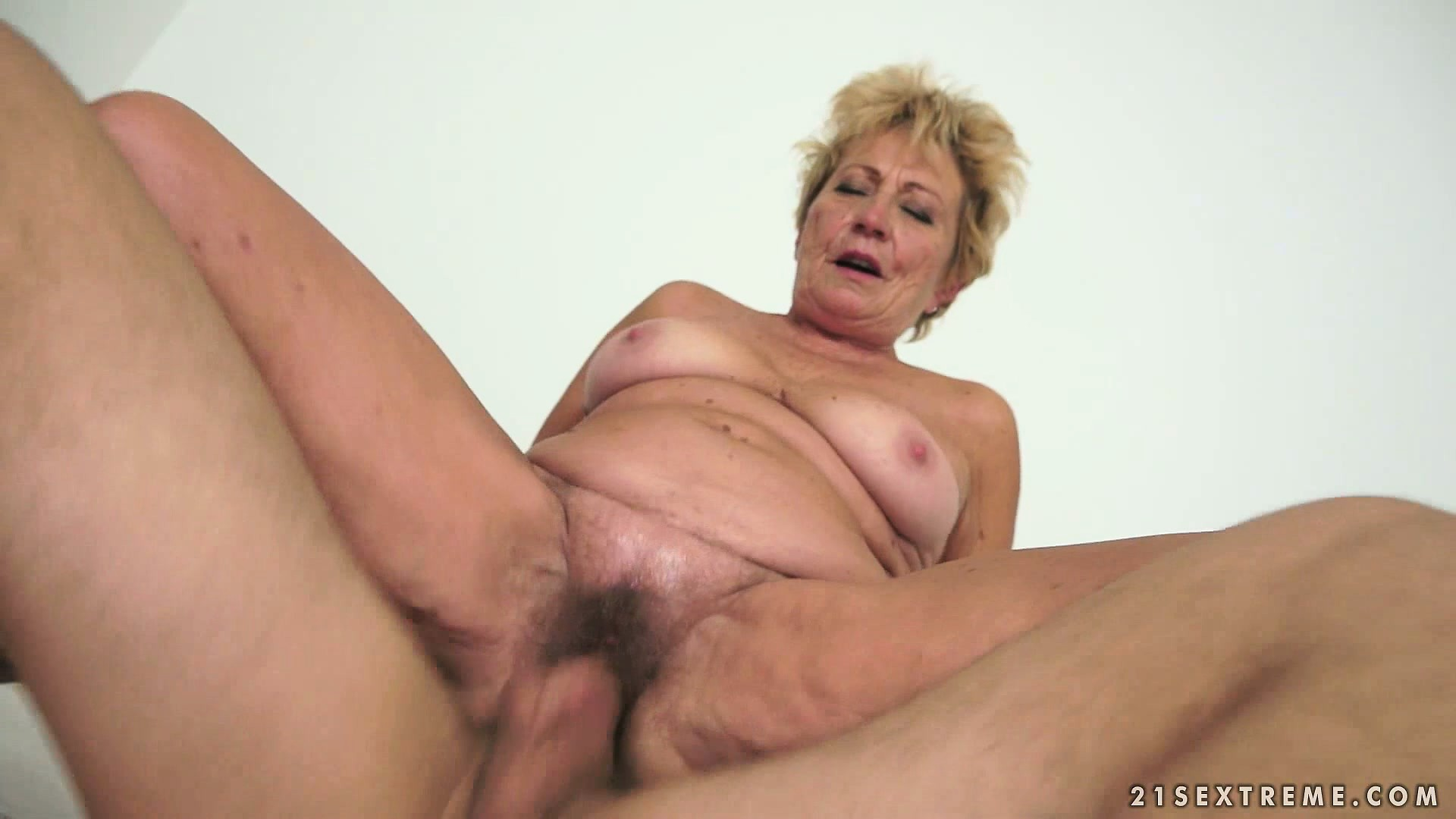 Porno Video of Granny Likes Young Meat And Eats His And Gets On To Ride On It