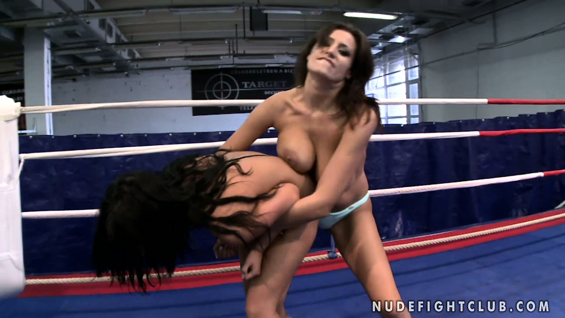 Porno Video of Madison Parker And Janelle Are Up To Some Serious Lesbian Wrestling