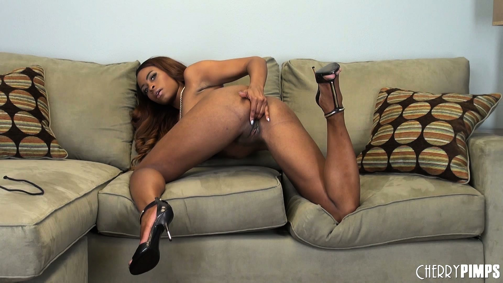 Porn Tube of Tori Taylor Finds Herself On The Solo Couch And Baring Her Black Bod