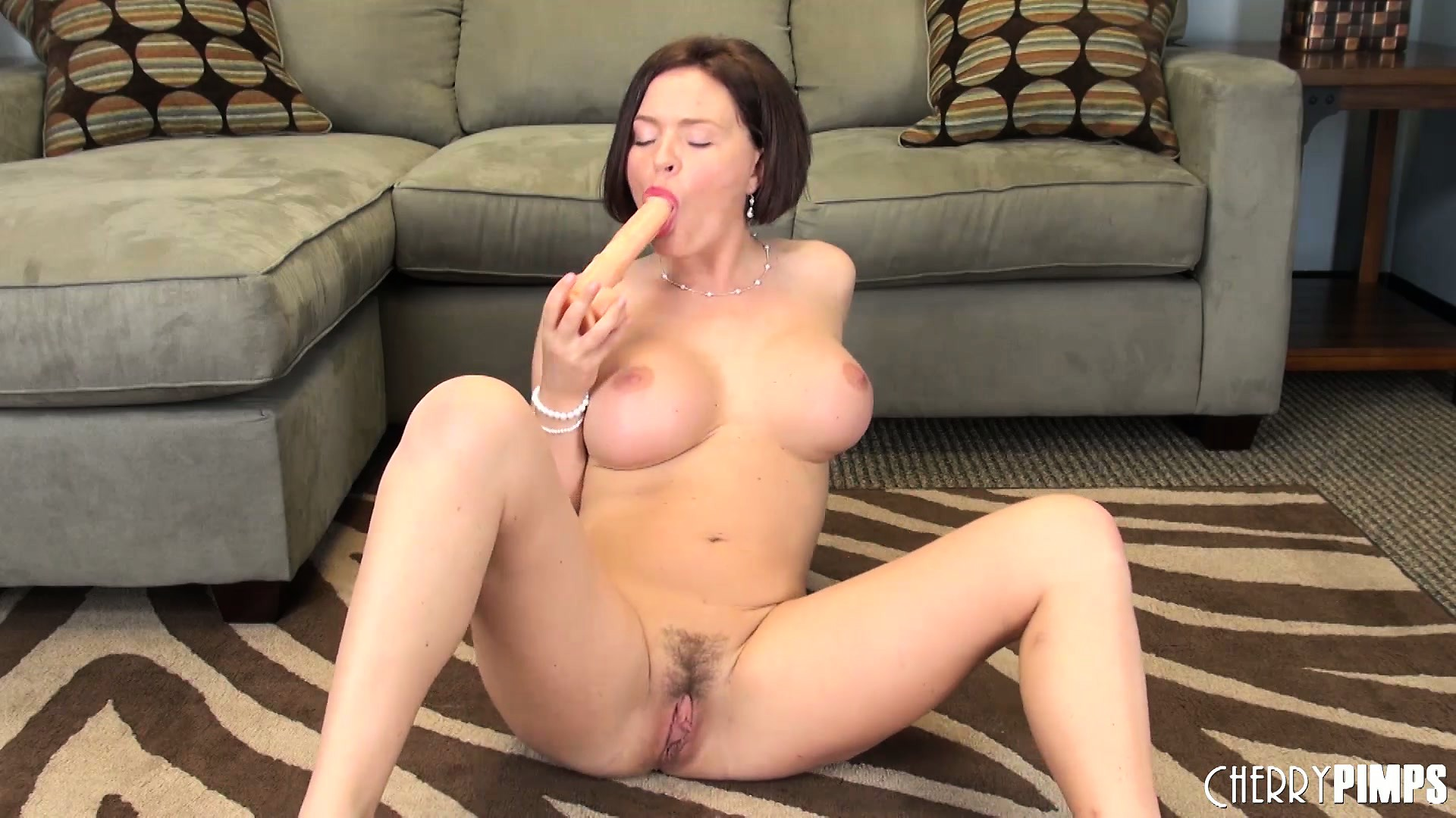 Porno Video of Krissy Lynn Likes To Pose And Tease Then Play With Toys To Please Herself