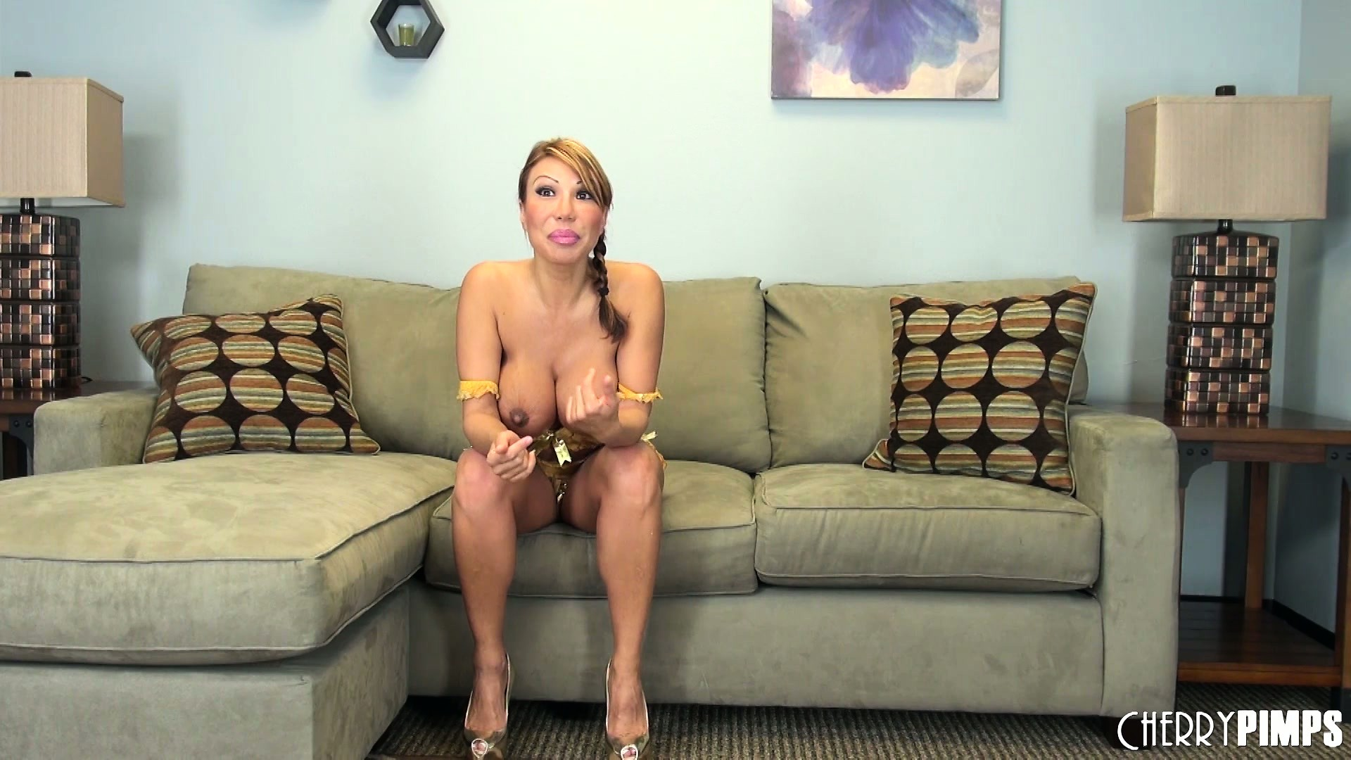 Porno Video of Stacked Milf Ava Devine Sits On The Couch Sharing Her Wild Fantasies And Desires