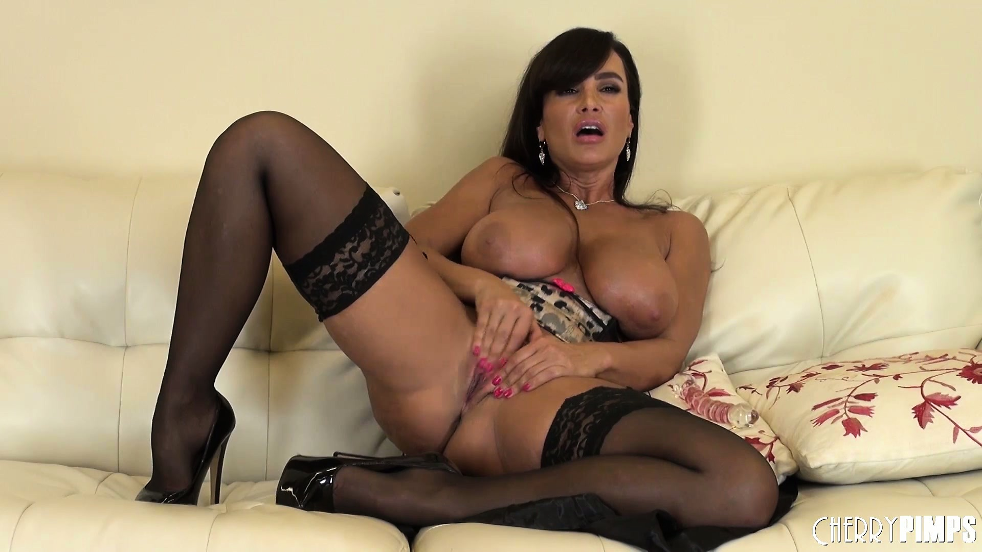 Porn Tube of Smiling Babe Lisa Ann Simply Wants To Masturbate And Cum Hard
