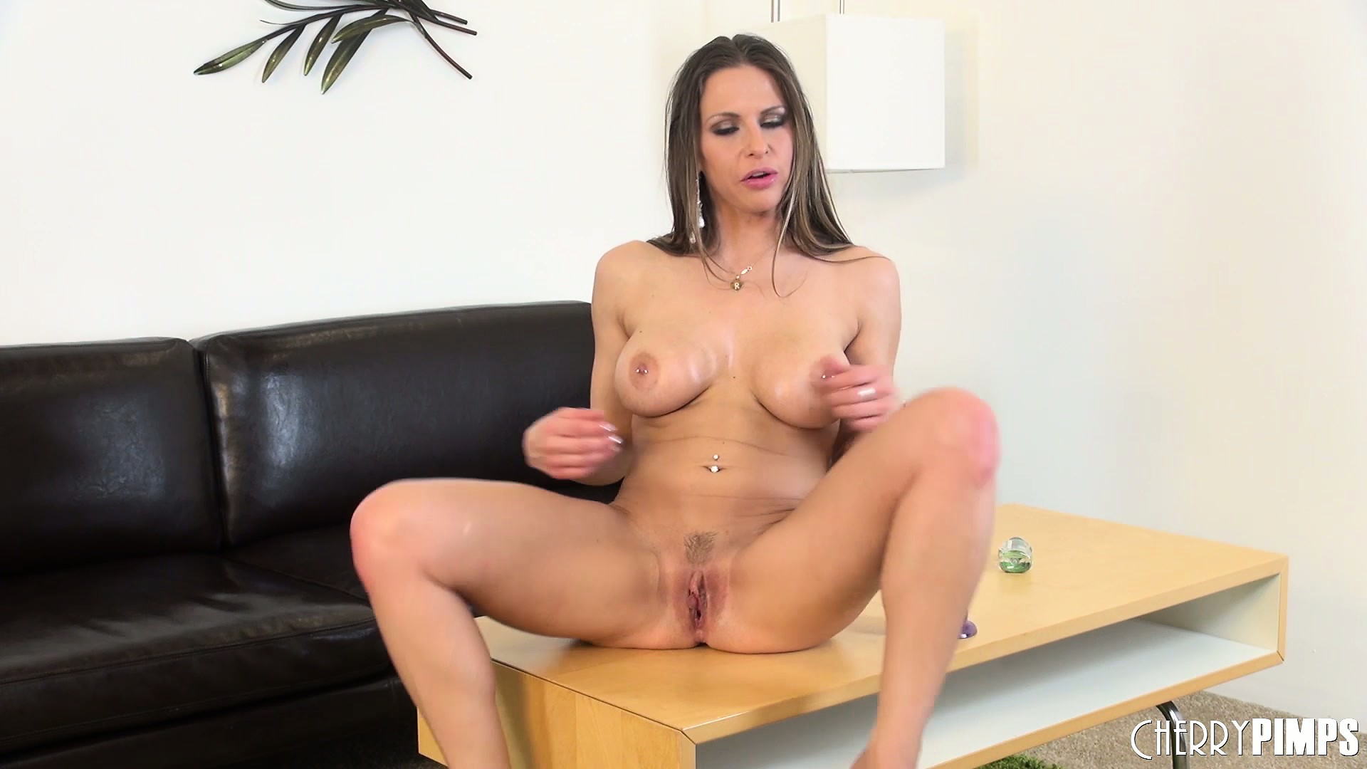 Porn Tube of Rachel Roxx Uses Her God Given Power Hooters To Grip A Fake Shaft