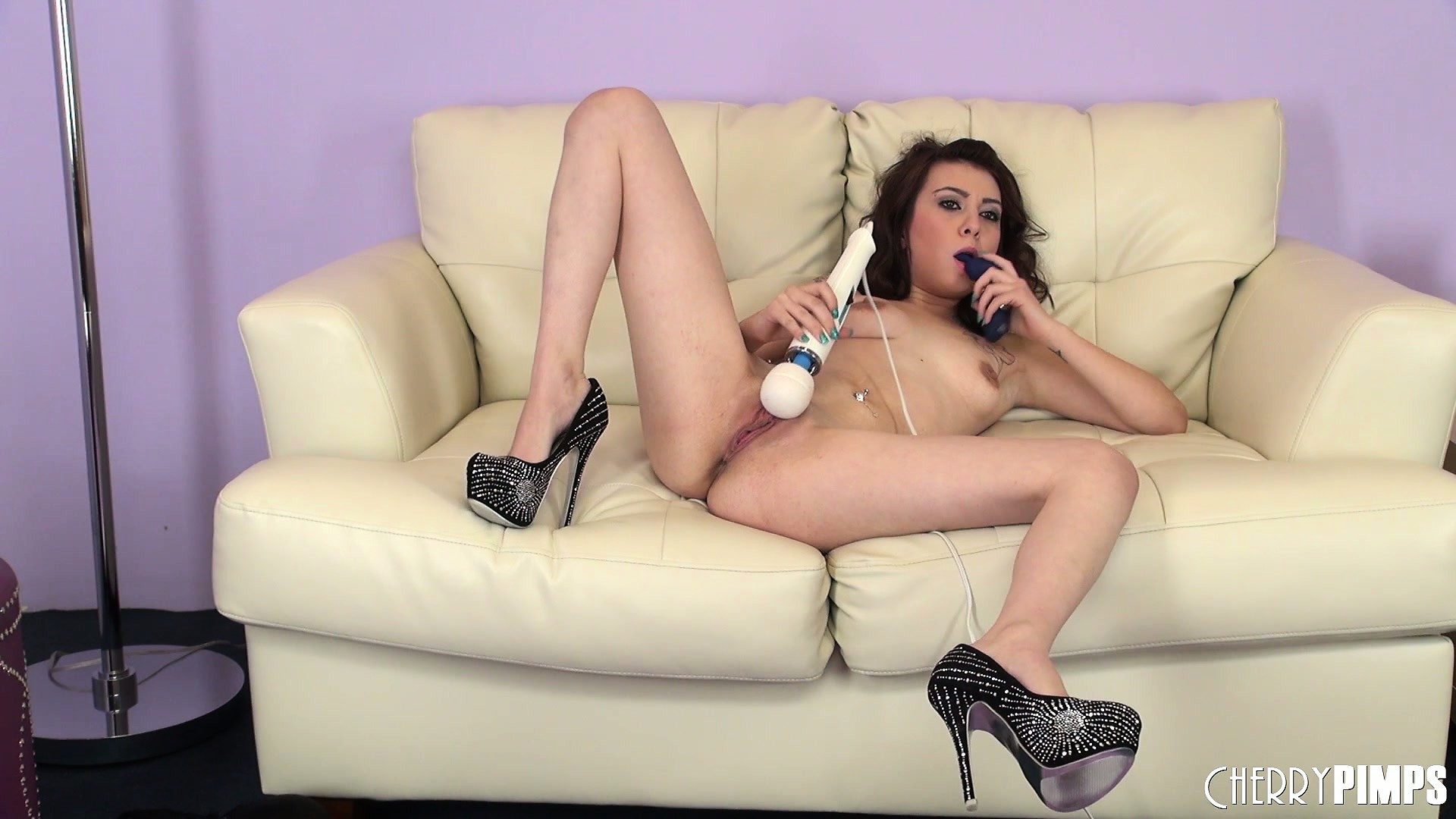 Porn Tube of Kat Dior Lets Her Curly Hair Flow Over Her Perfect Perky Tits