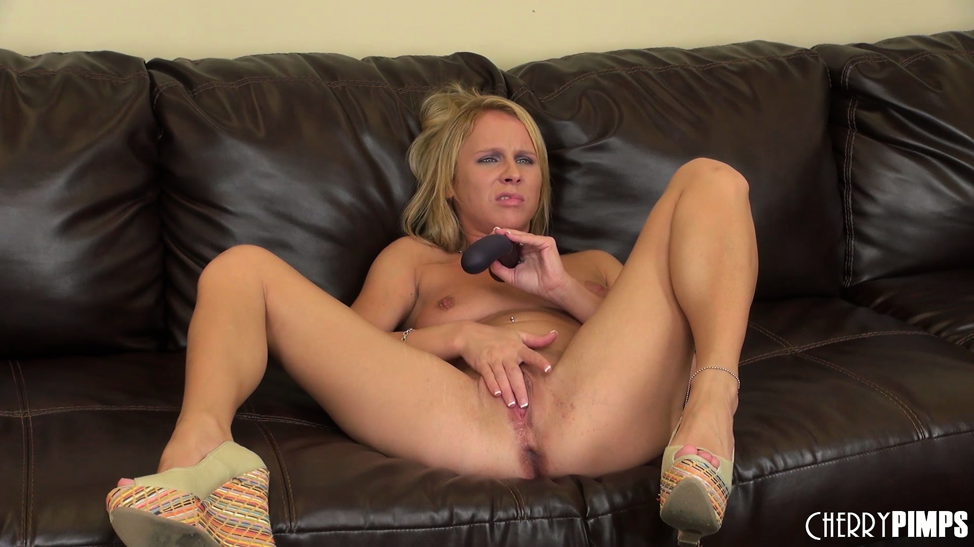 Porno Video of Aria Austin Fucks Her Wet Pussy Mad Deep Using A Thick Dildo