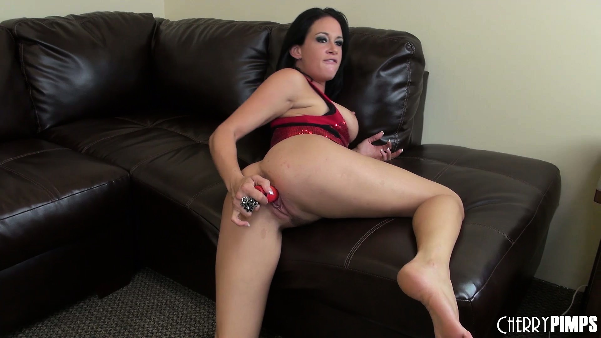 Porno Video of Tory Lane, A Stacked Brunette With A Spicy Ass, Reveals Her Passion For Sex Toys