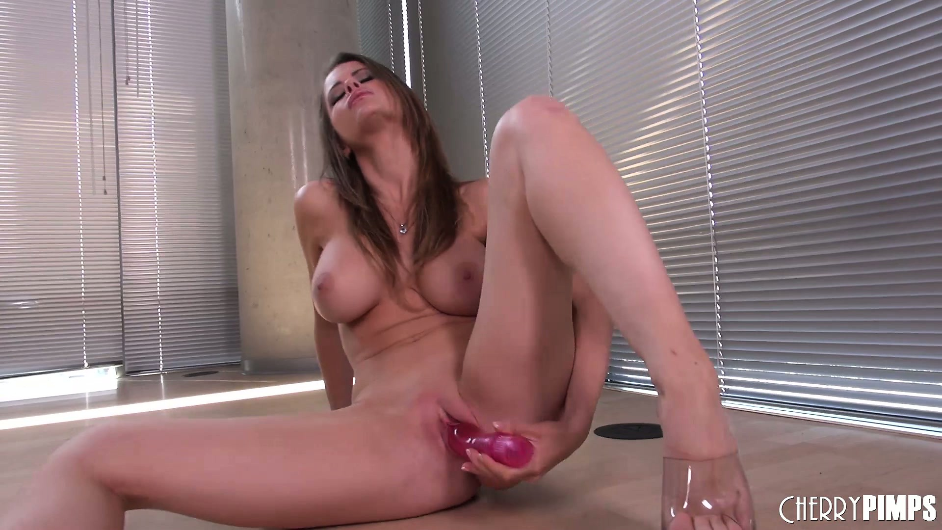 Porno Video of Busty Brunette Emily Addison Plays With Her Tits And Toys Her Cunt