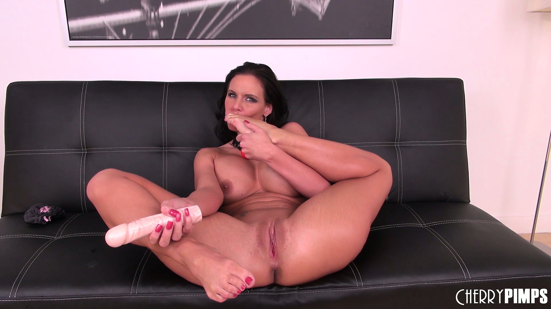 Porn Tube of Busty Brunette Babe Phoenix Marie Likes To Be Naked And Play With Toys