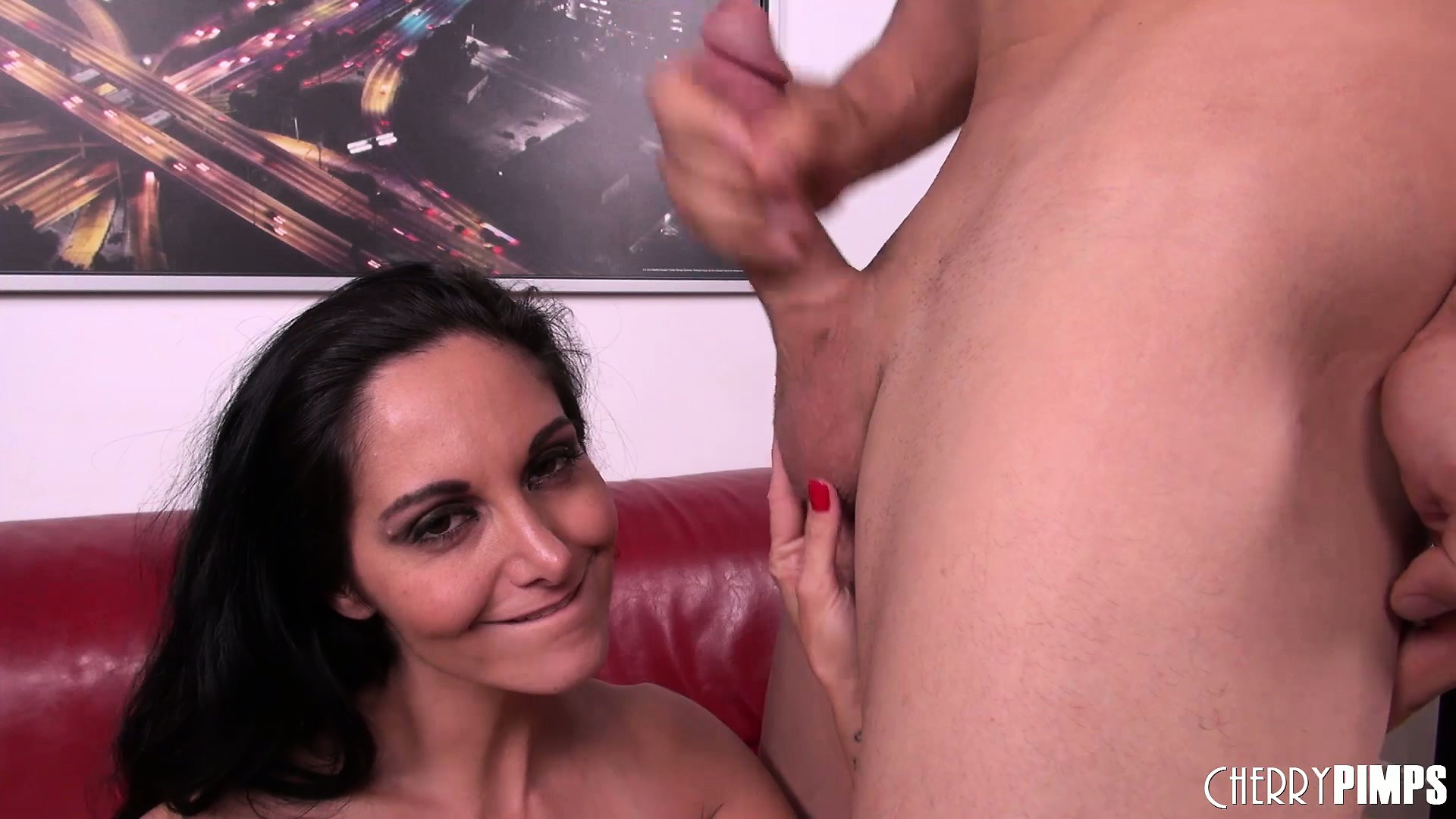 Porno Video of Horny Brunette Ava Adams Gets Drilled And Takes A Messy Facial