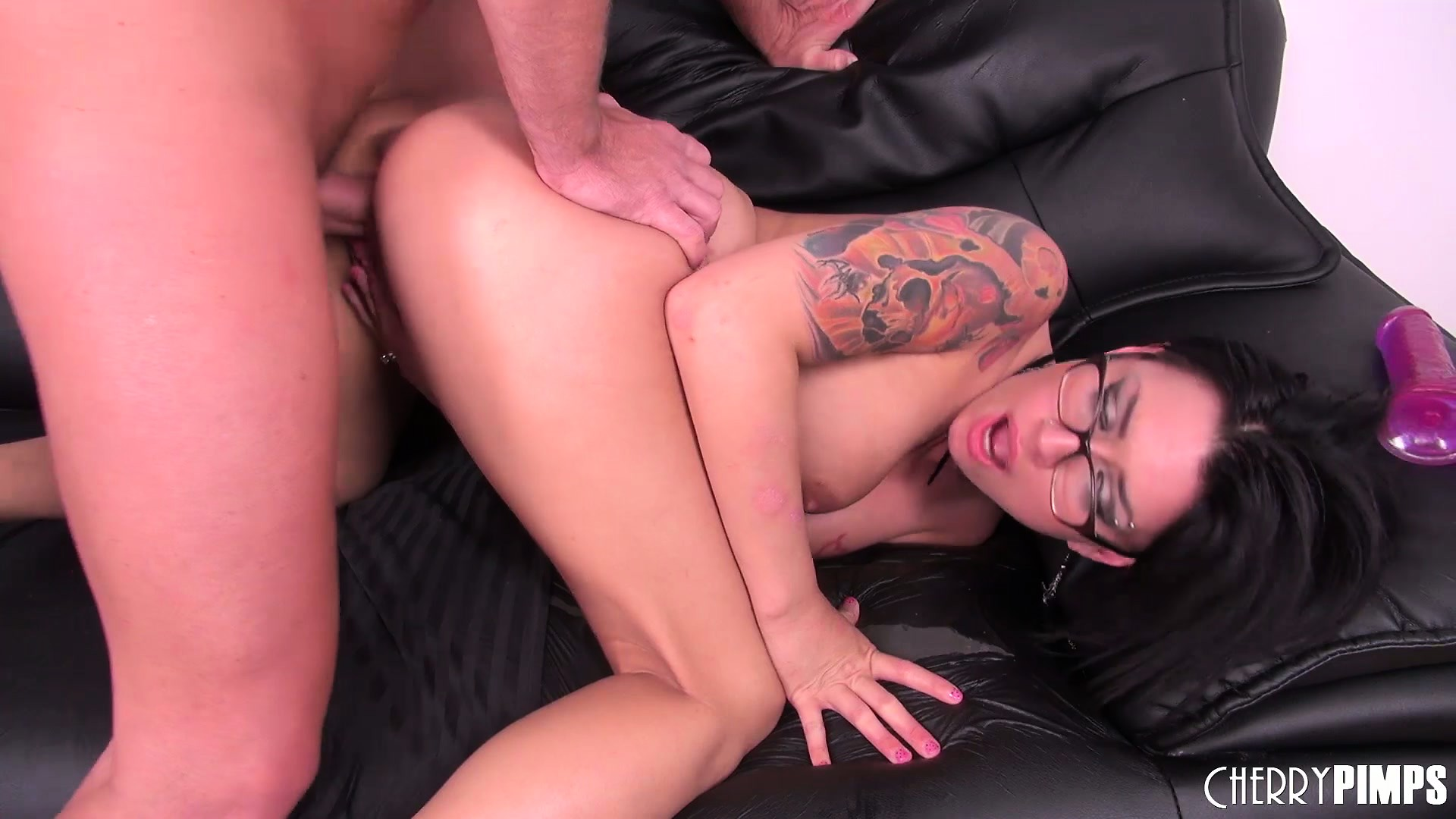 Porn Tube of The Wild Brunette Enjoys A Deep Fucking From Behind And Keeps Wanting More