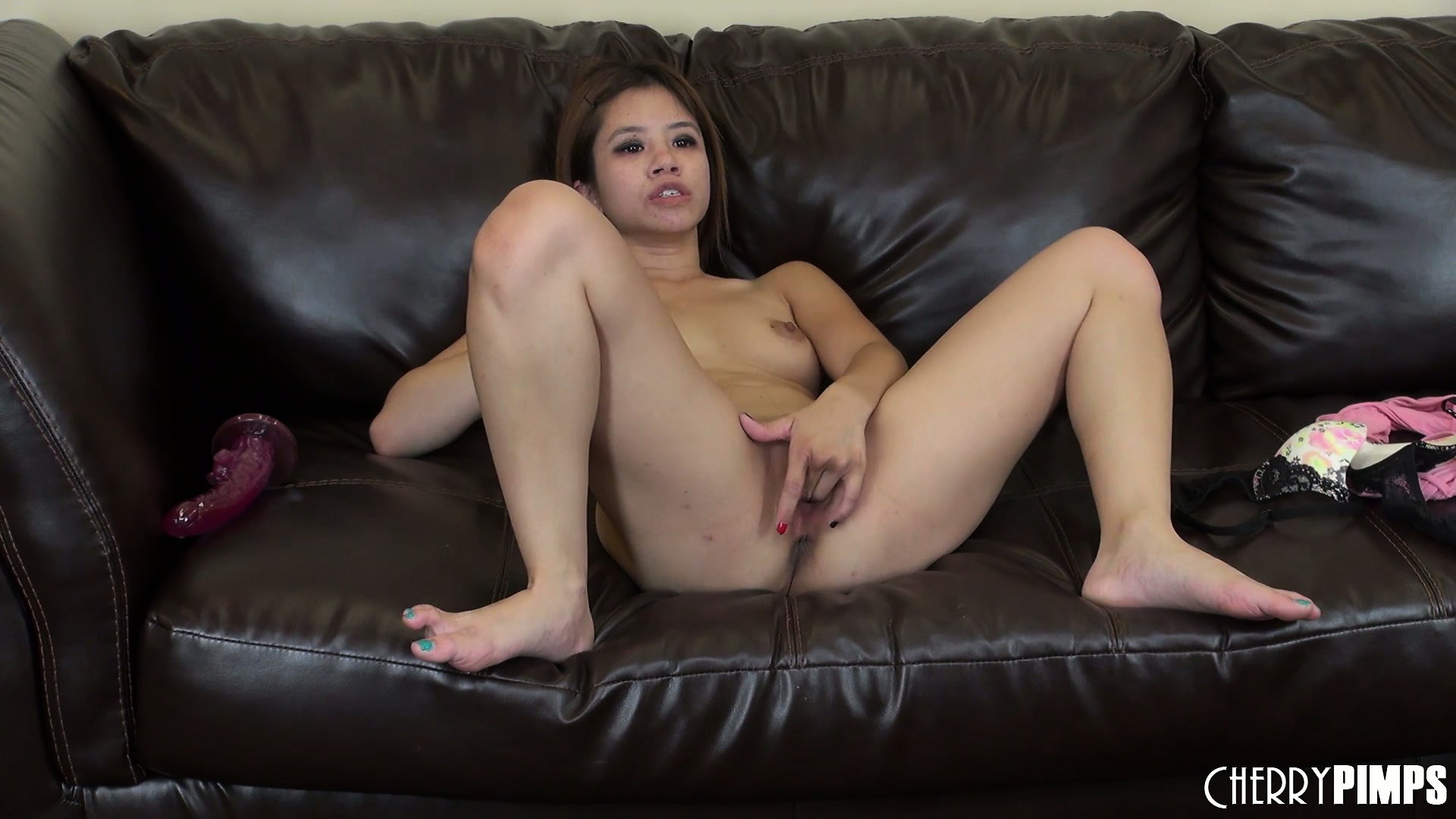 Porn Tube of Asia Zo Forgets To Breathe As She Starts To Cum Hard From Solo Fisting
