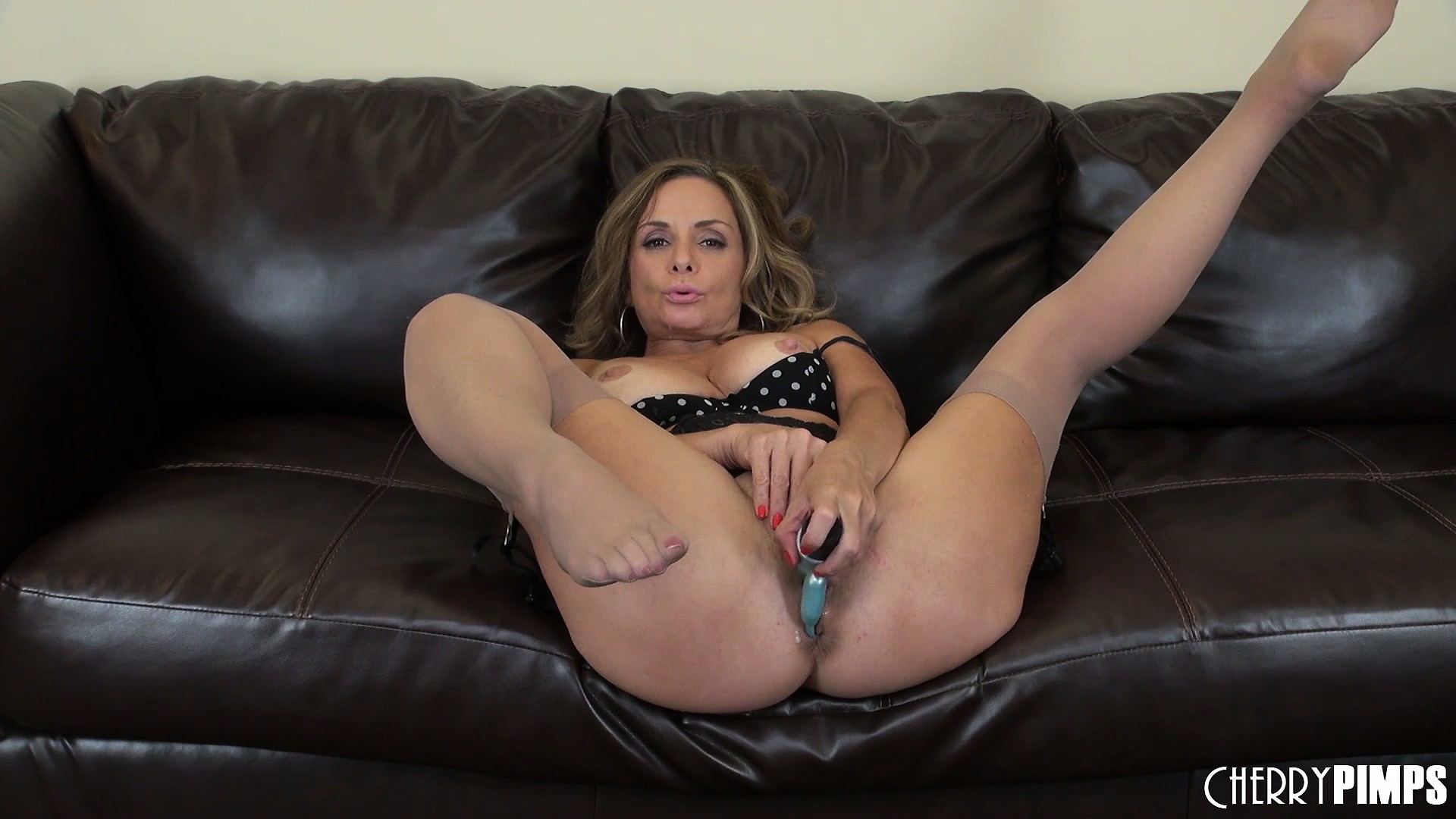 Porn Tube of Rebecca Bardoux Is A Hot Mama And Likes To Play With Her Vibrating Sex Toy