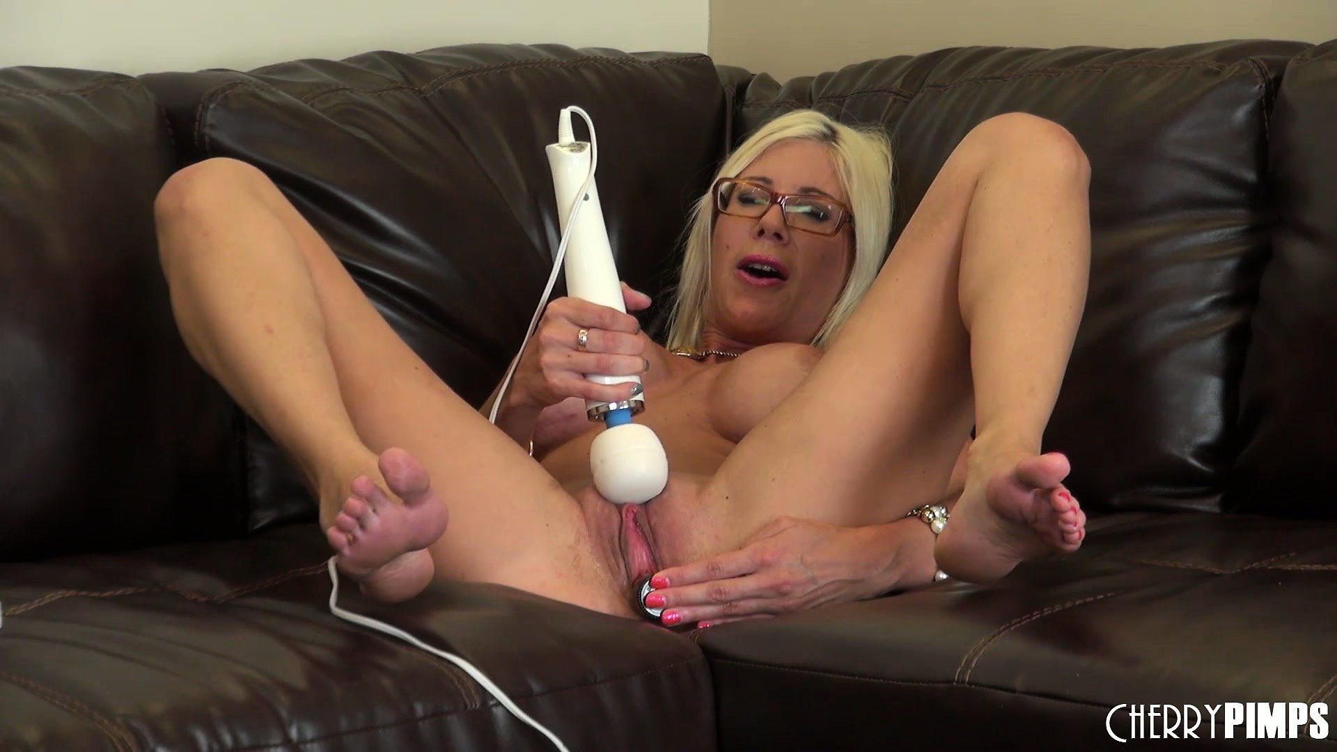 Porno Video of With A Vibrator Working Its Magic On Her Clit, Puma's Body Shudders With Delight