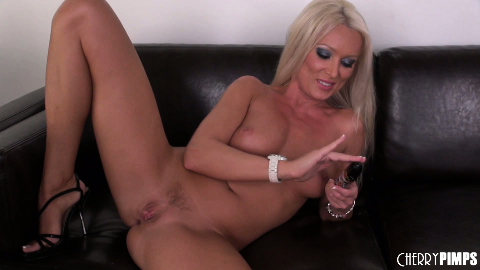 Porn Tube of Heavenly Blonde With Sublime Tits And Ass Diana Doll Fulfills Her Needs With A Dildo