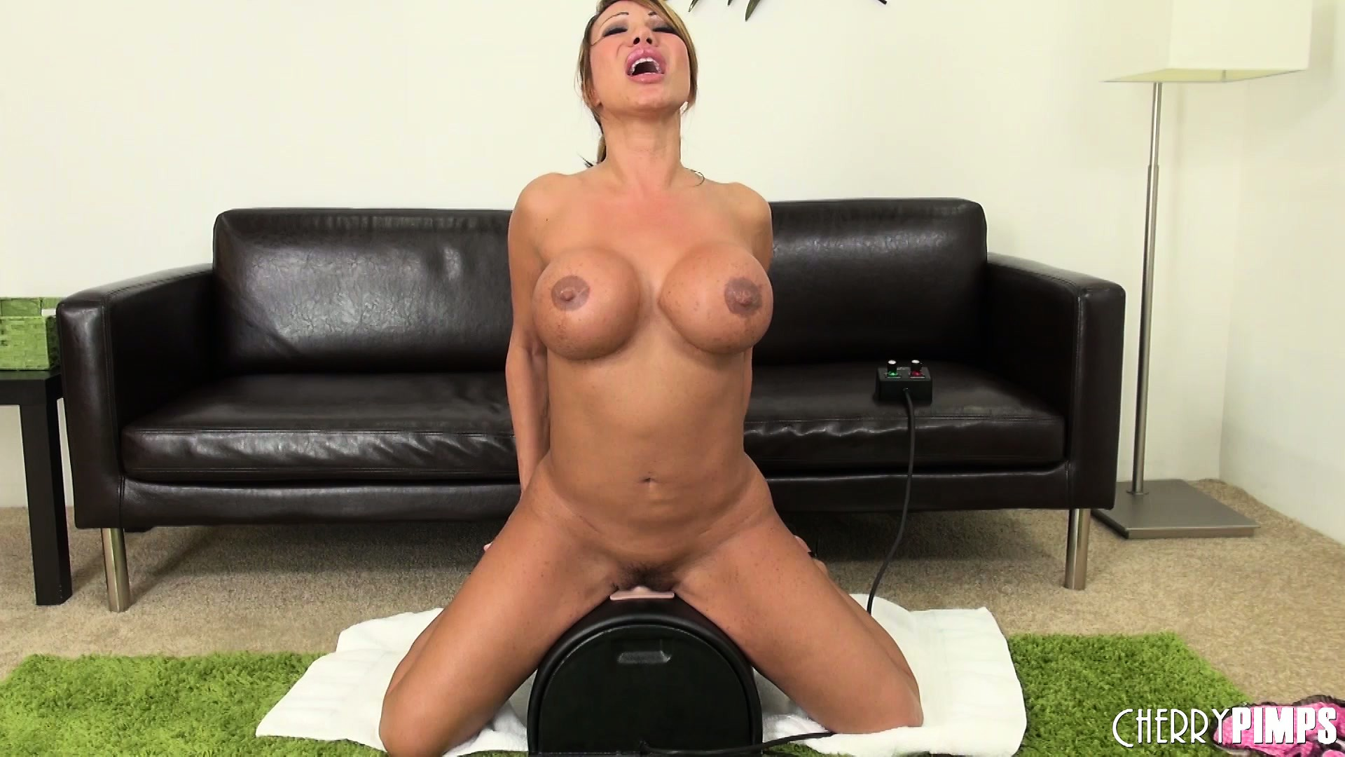 Porno Video of Ava Devine Loves Riding A Fucking Machine Because It Does All The Work
