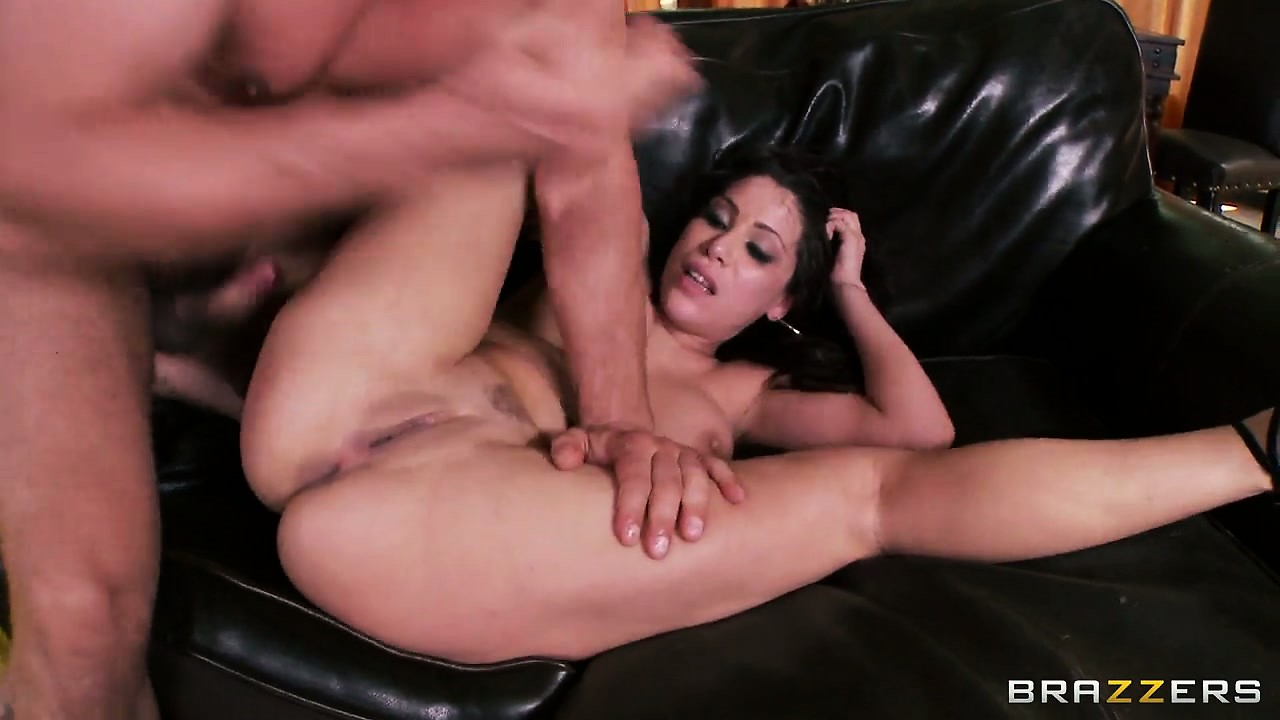 Porn Tube of Two Horny Guys Take Turns To Fuck This Hot Brunette Beauty In Her Asshole