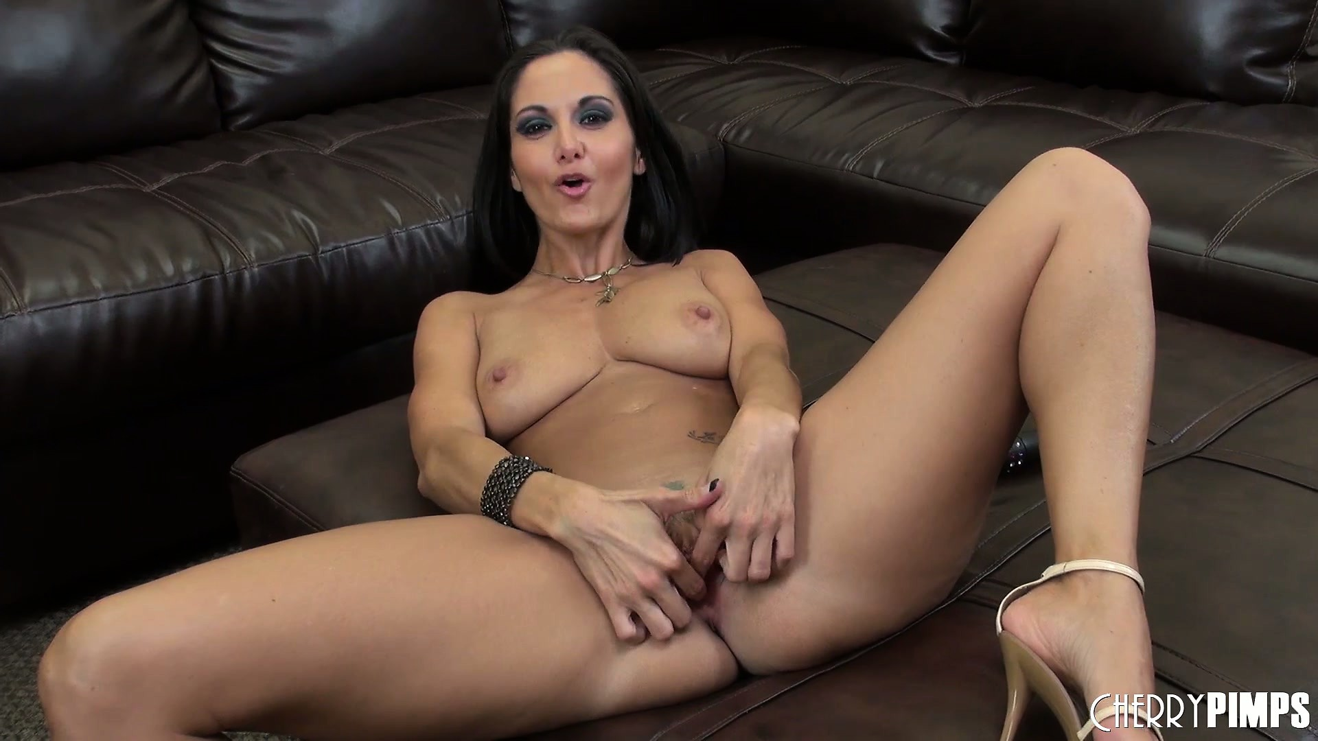 Porno Video of Busty Brunette Ava Addams Shows Her Body And Toys Her Wet Pussy