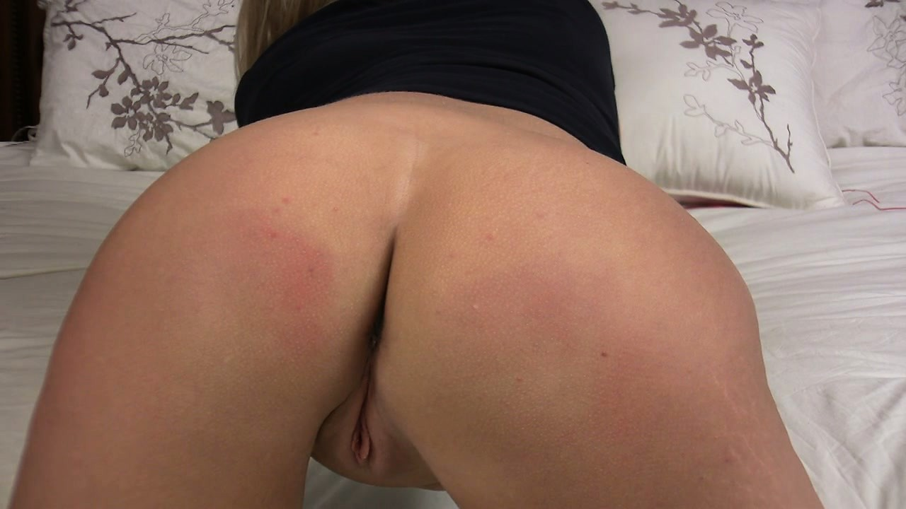 Porno Video of Dishy Blonde Crystal Was Has To Bend Over And Introduce Her Lovely Bottom