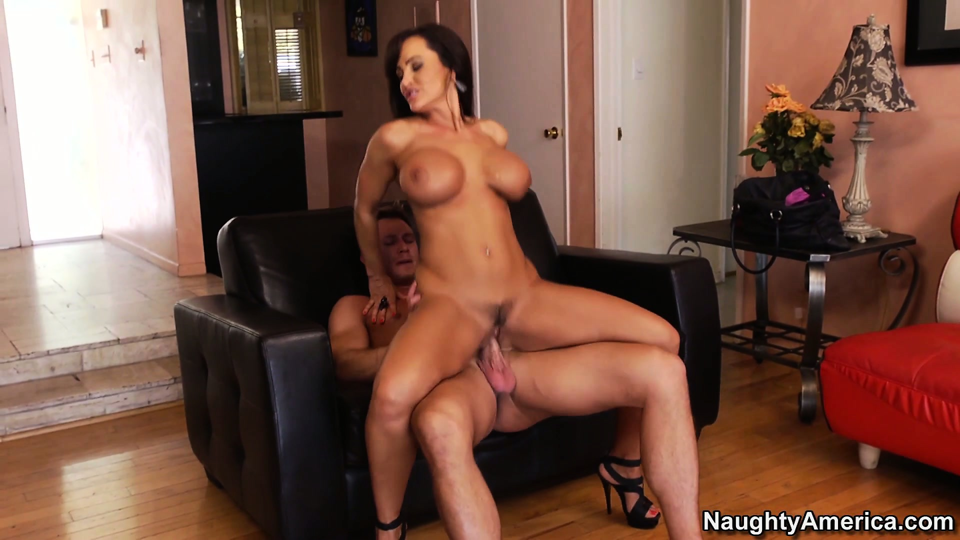 Porno Video of Lisa Ann Puts Her Shapely Body To Work Y Riding On A Hard Dick