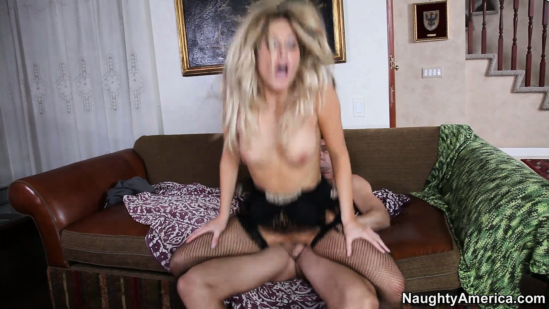 Porn Tube of The Hot Blonde Rides That Dick With Passion Before Getting Fucked Doggy Style