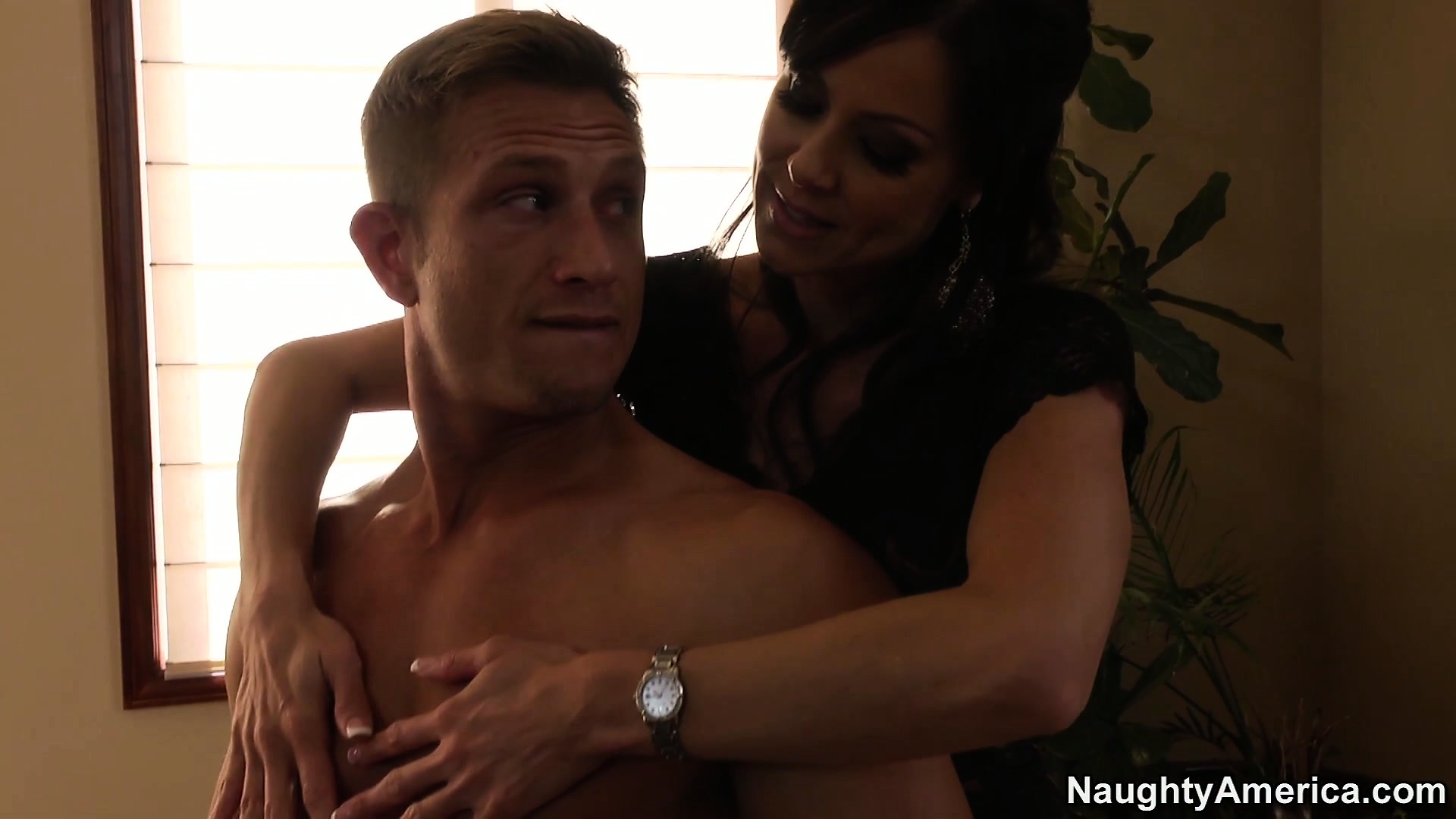 Porn Tube of Kendra Lust Enjoys A Full Service From The Owner Of This Schlong