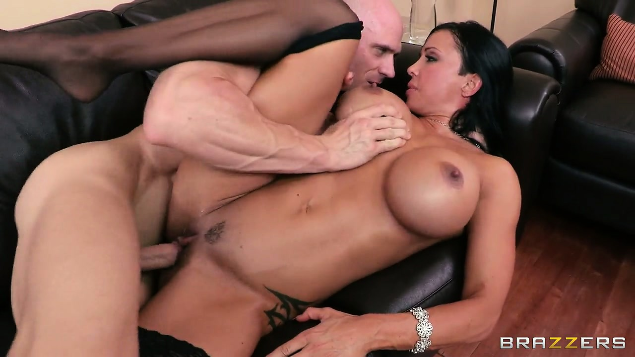 Porno Video of Legendary Busty Milf Porn Star Milking The Huge Cock Of Johnny Sins
