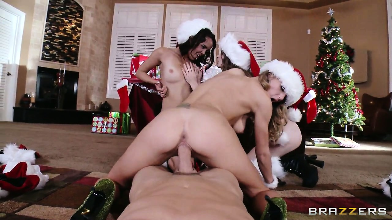 Porno Video of They Suck And Fuck That Big Cock In An Attempt To Fulfill Their Christmas' Wishes