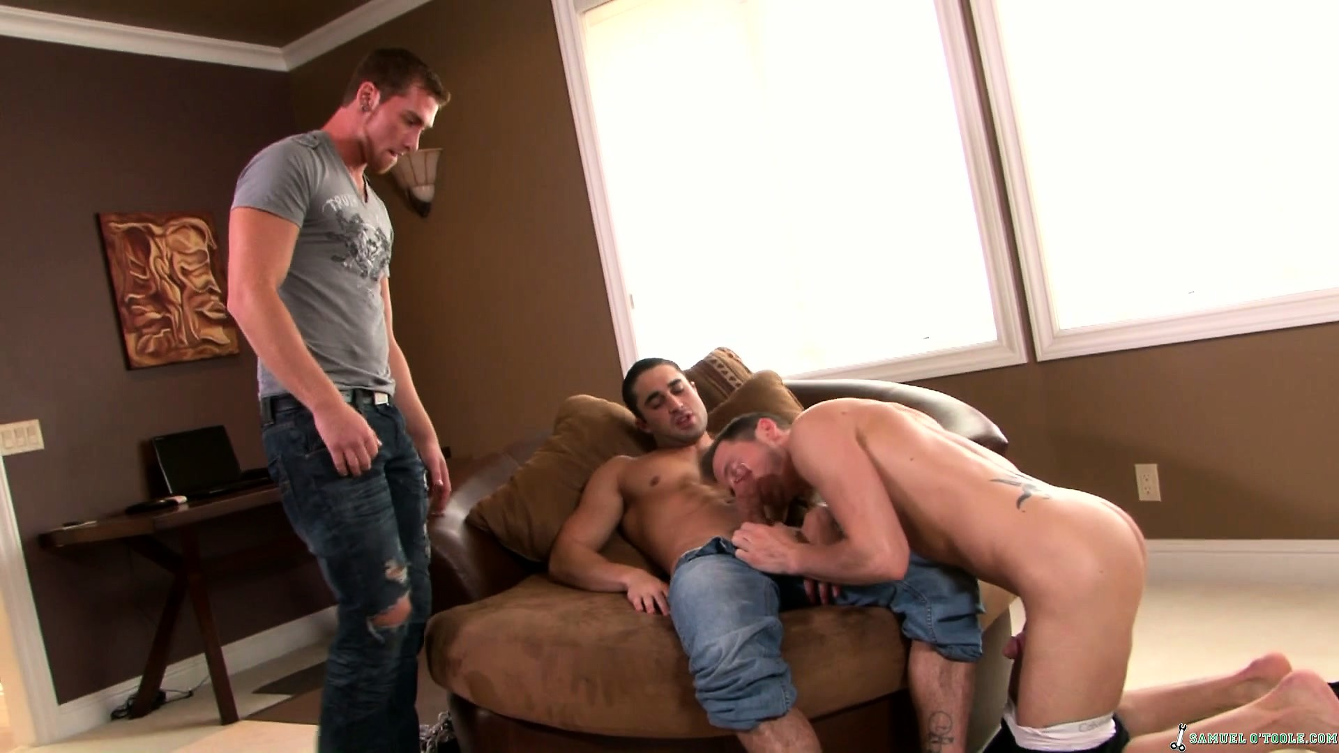 Porno Video of Three Horny Boys Get Together To Satisfy Common Desires And Needs