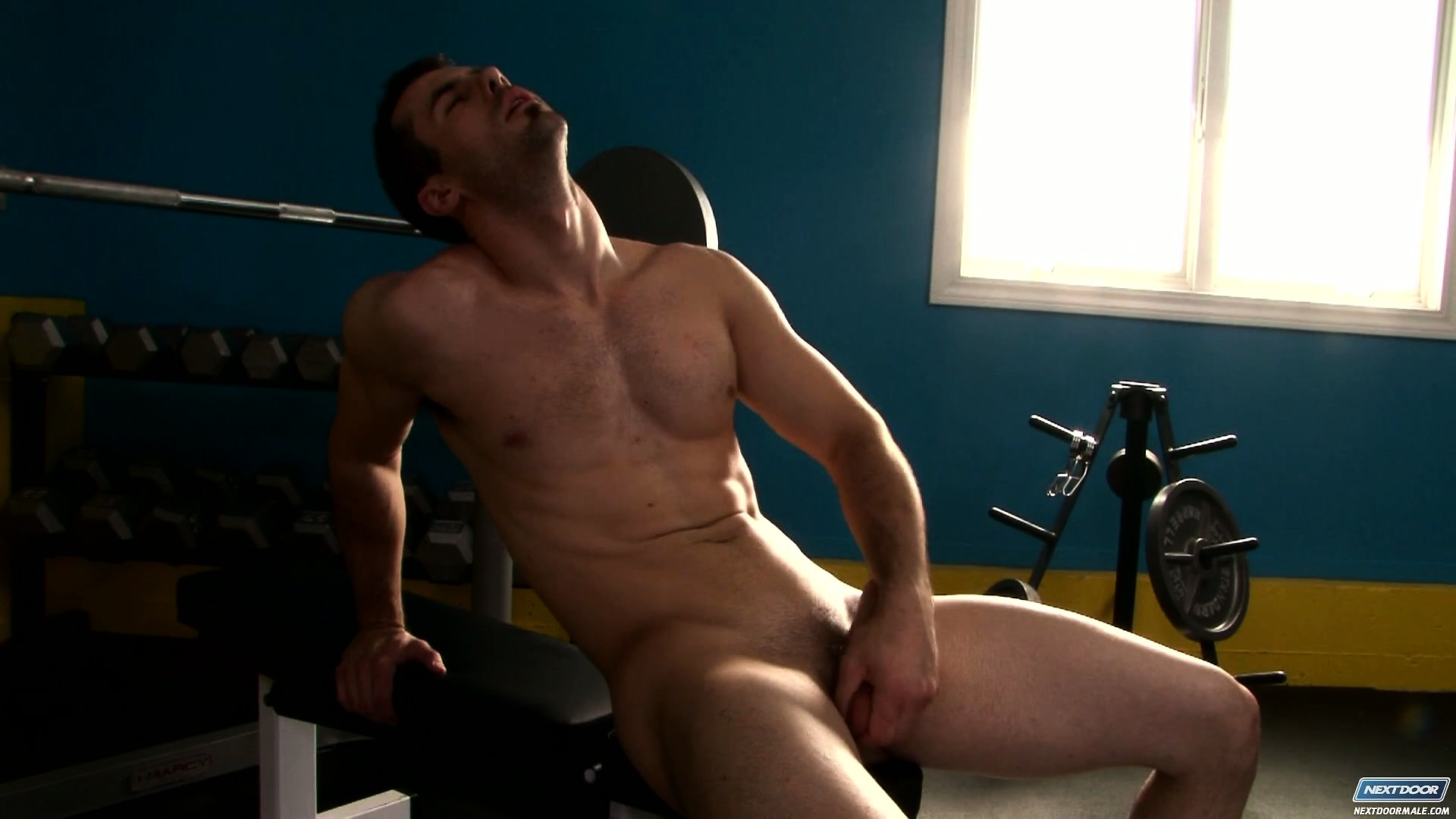 Porn Tube of Brock Cooper Takes A Break From His Workout Session To Satisfy His Urges And Needs