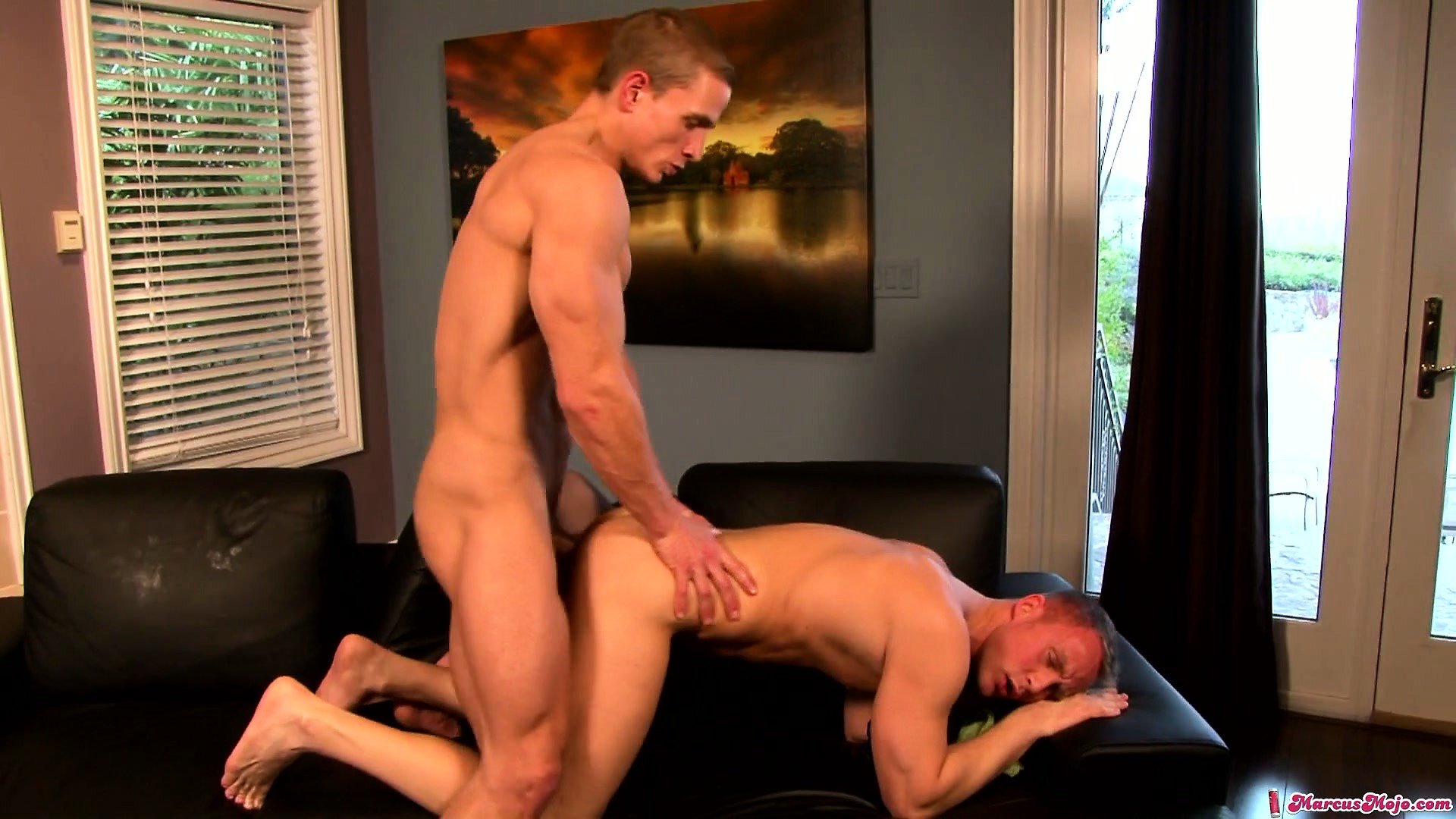 Porn Tube of These Two Ripped Gay Hunks Are Both Used To Hardcore Shagging