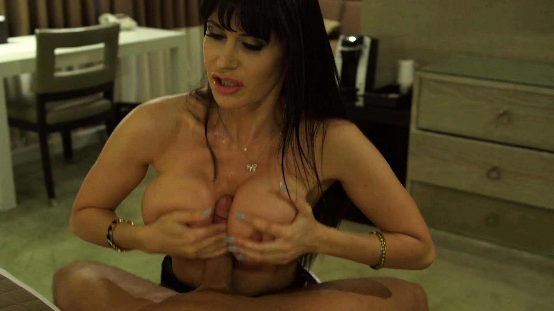 Porn Tube of Cougar Plays The Part Of The Dirty Housemaid For Her Hung Lover