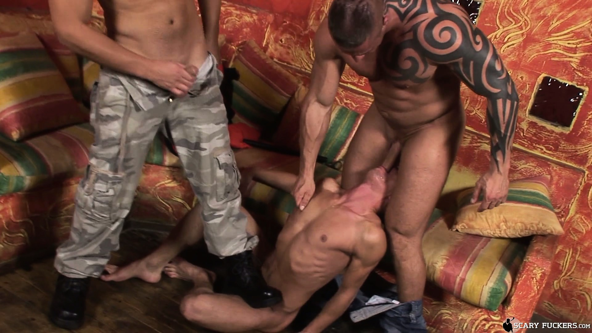 Porn Tube of Arrogant Dick-eating Fellow Is Punished By Erratic Butt-banger