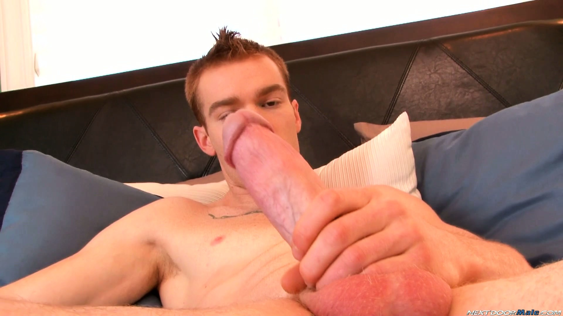 Porno Video of James Jamesson Loves The Feel Of His Hand On His Cock Before He Cums