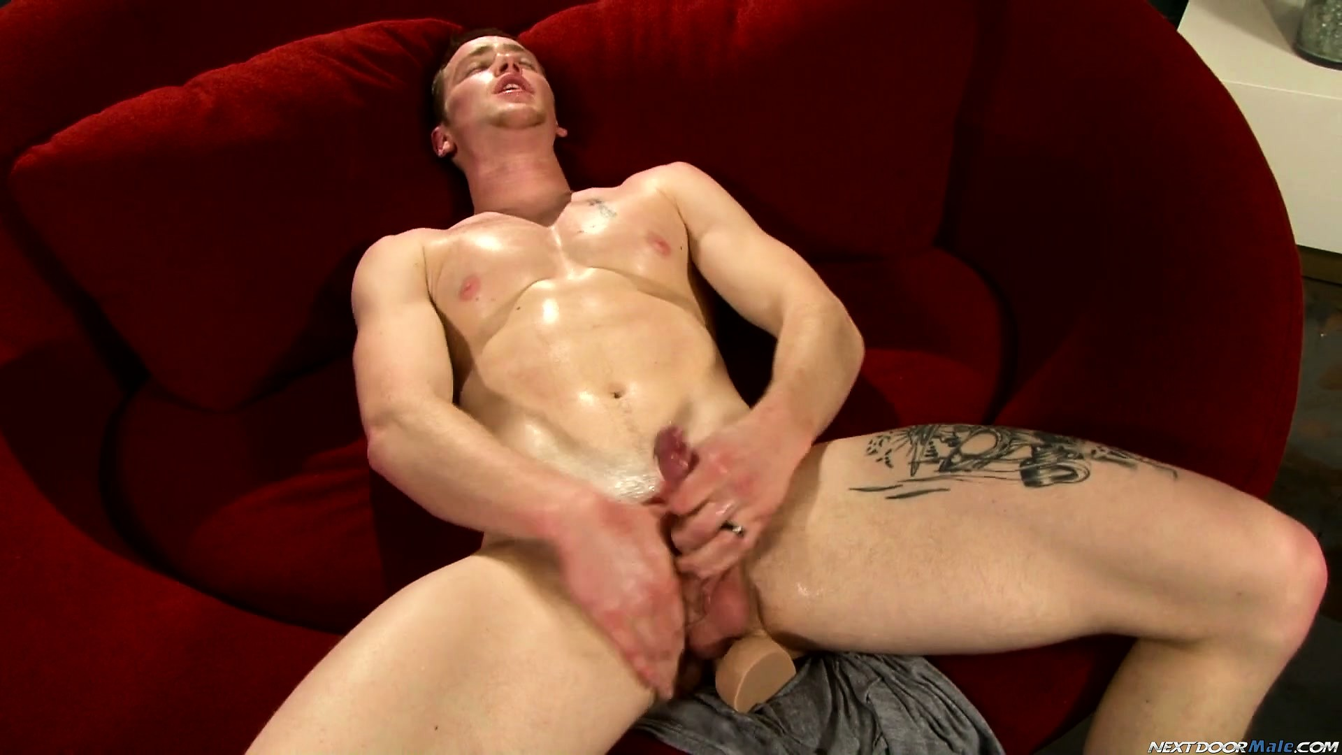 Porno Video of Horny Dude Rick Mccoy Shoves A Dildo Up His Ass And Pulls His Pecker In A Solo