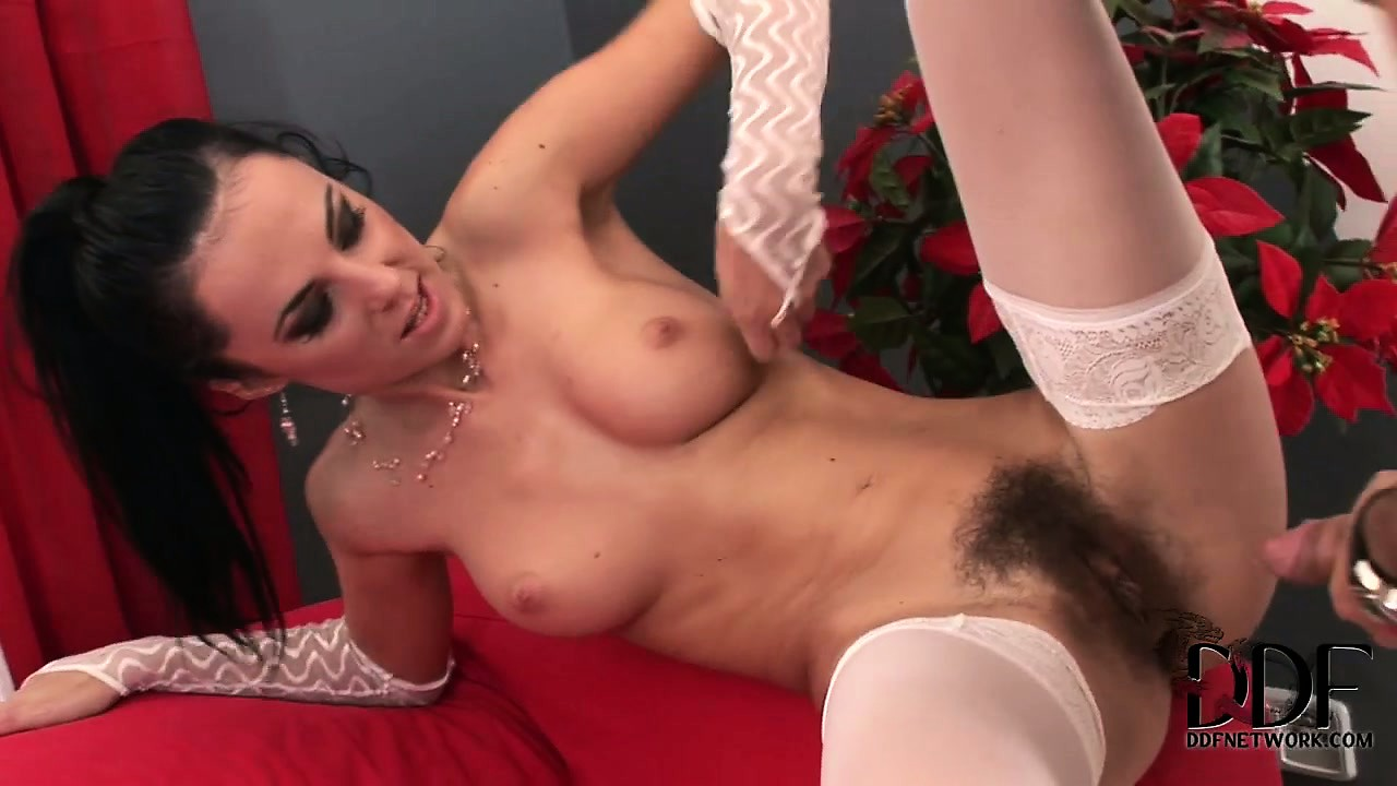 Porno Video of Sexy Girl With Nice Tits And Hot Pantyshosed Legs Has A Big Cock Drilling Her Hairy Cunt