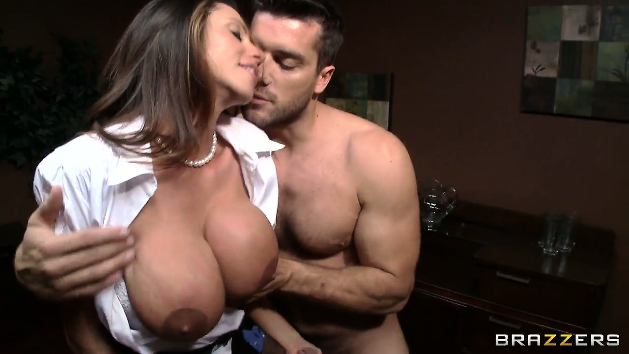 Porn Tube of Busty Secretary In White Blouse Has A Very Bad Temper And Very Nice Set Of Tits