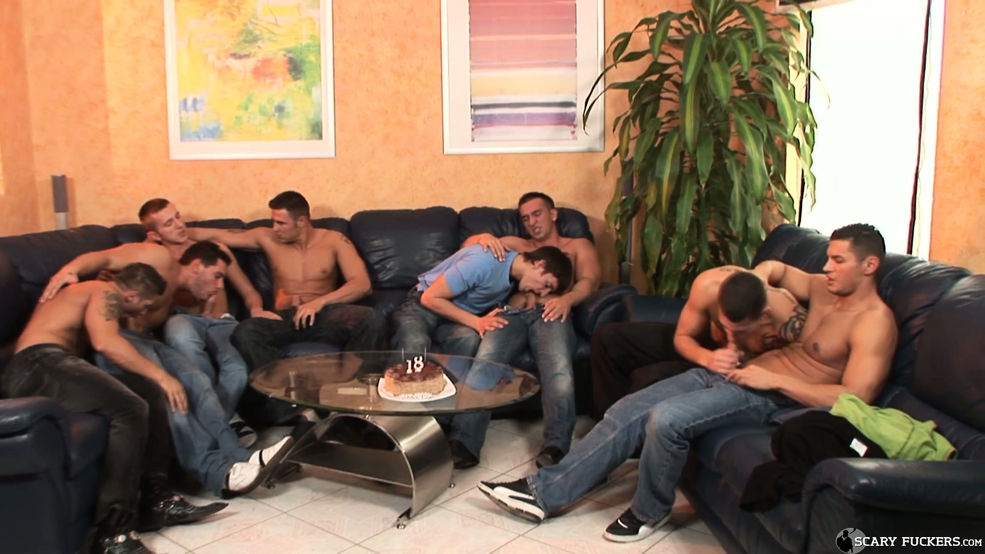 Porno Video of The Boys At The Birthday Party Break The 18 Year Old's Virgin Ass Cherry
