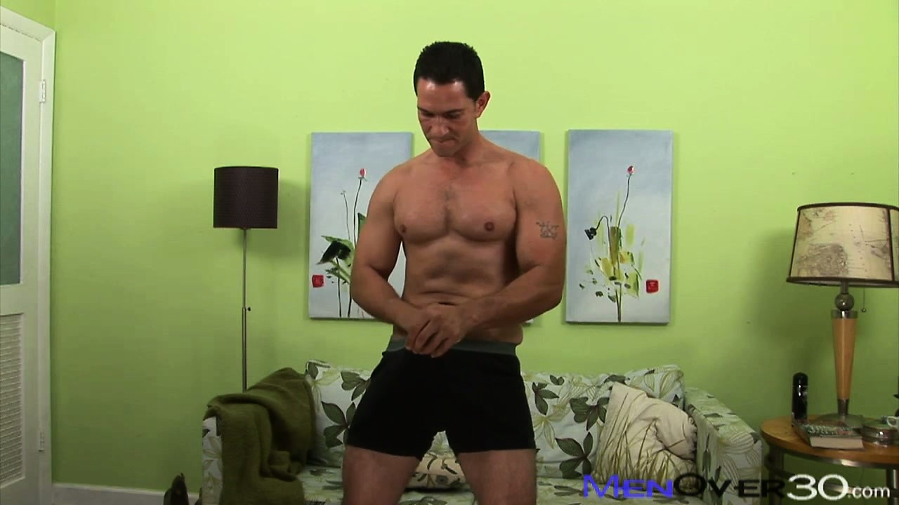 Porn Tube of Guy In Black Shorts Sticks His Dick And Pulls It Out Of Pants