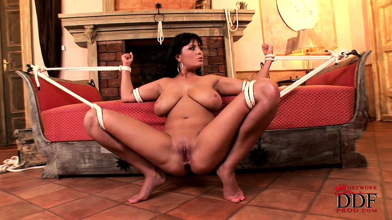 Porn Tube of Sexy Brunette Milf Gets Banged In Bondage And Creamed In Her Lovely Mouth