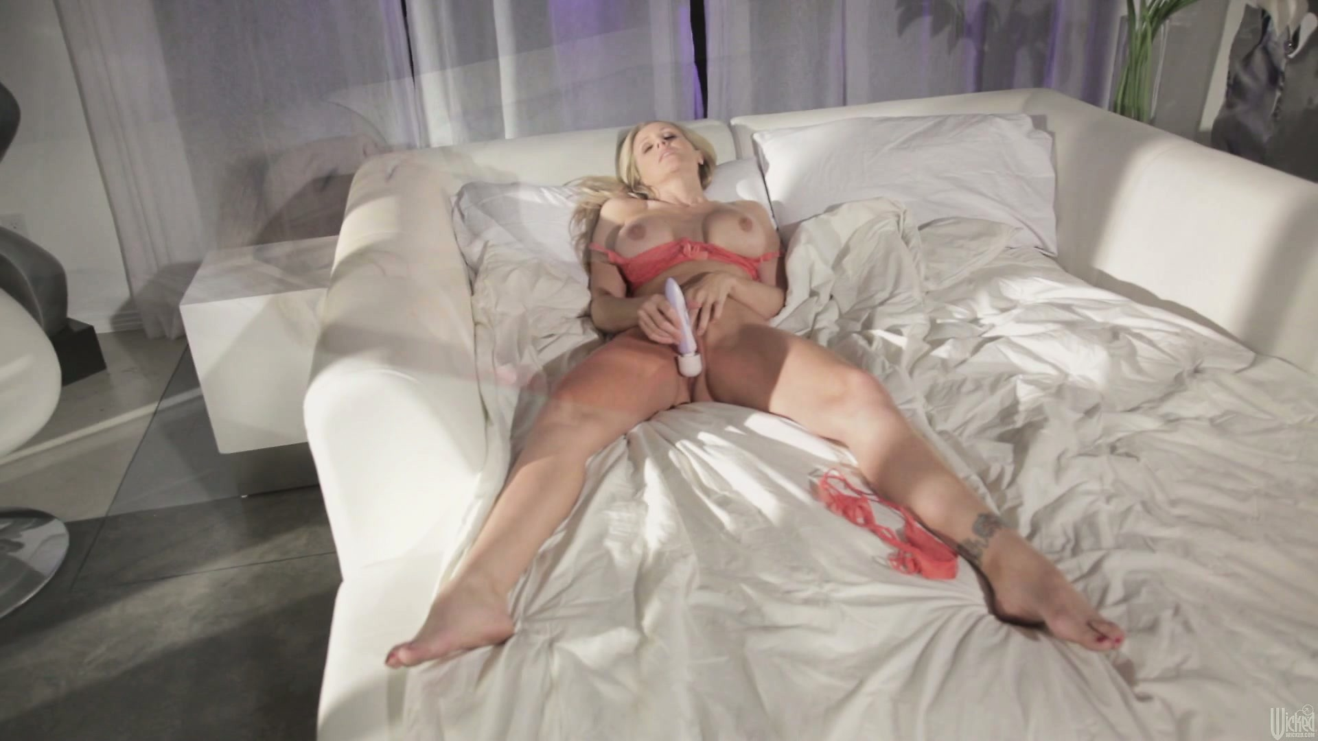 Porno Video of She Follows Her Own Guide And Uses Her Vibrator For A Nice Orgasm