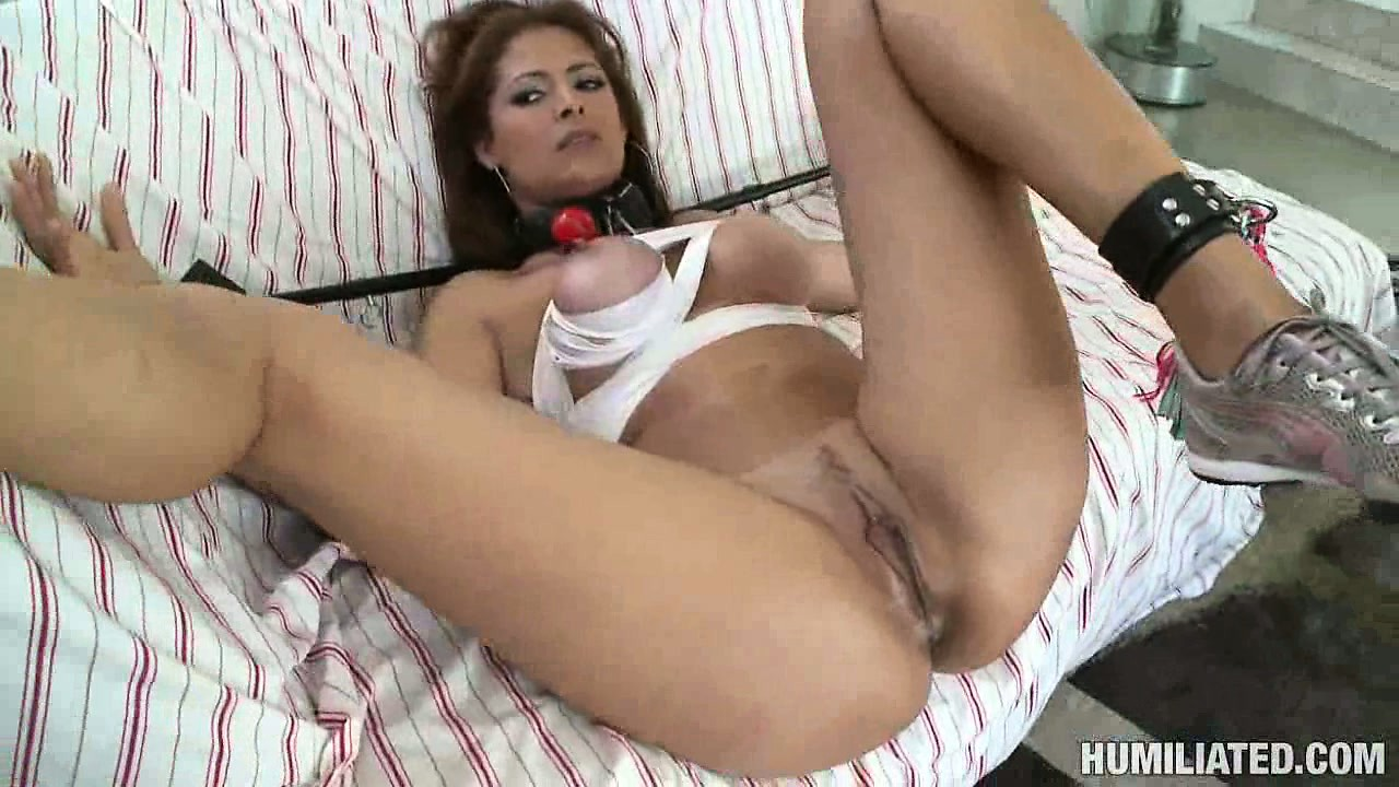 Porno Video of Monique Gets Her Tits Tied Up And Then Drilled By A Hard Pecker