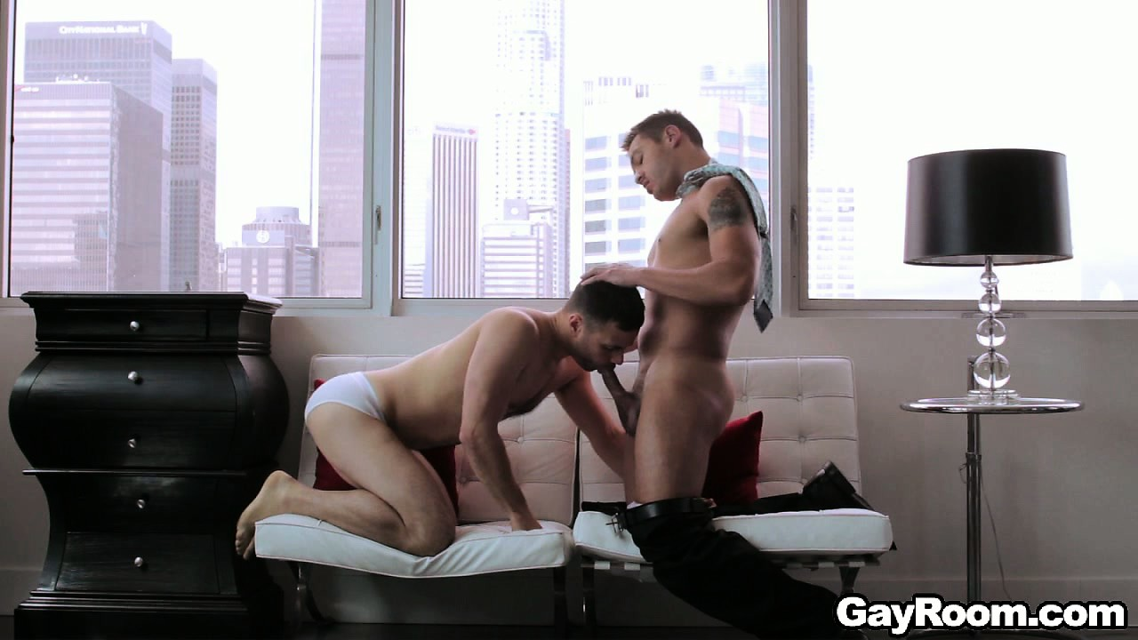 Porno Video of Handsome Gay Couple Fucks Hard In Their Luxurious Penthouse Suite
