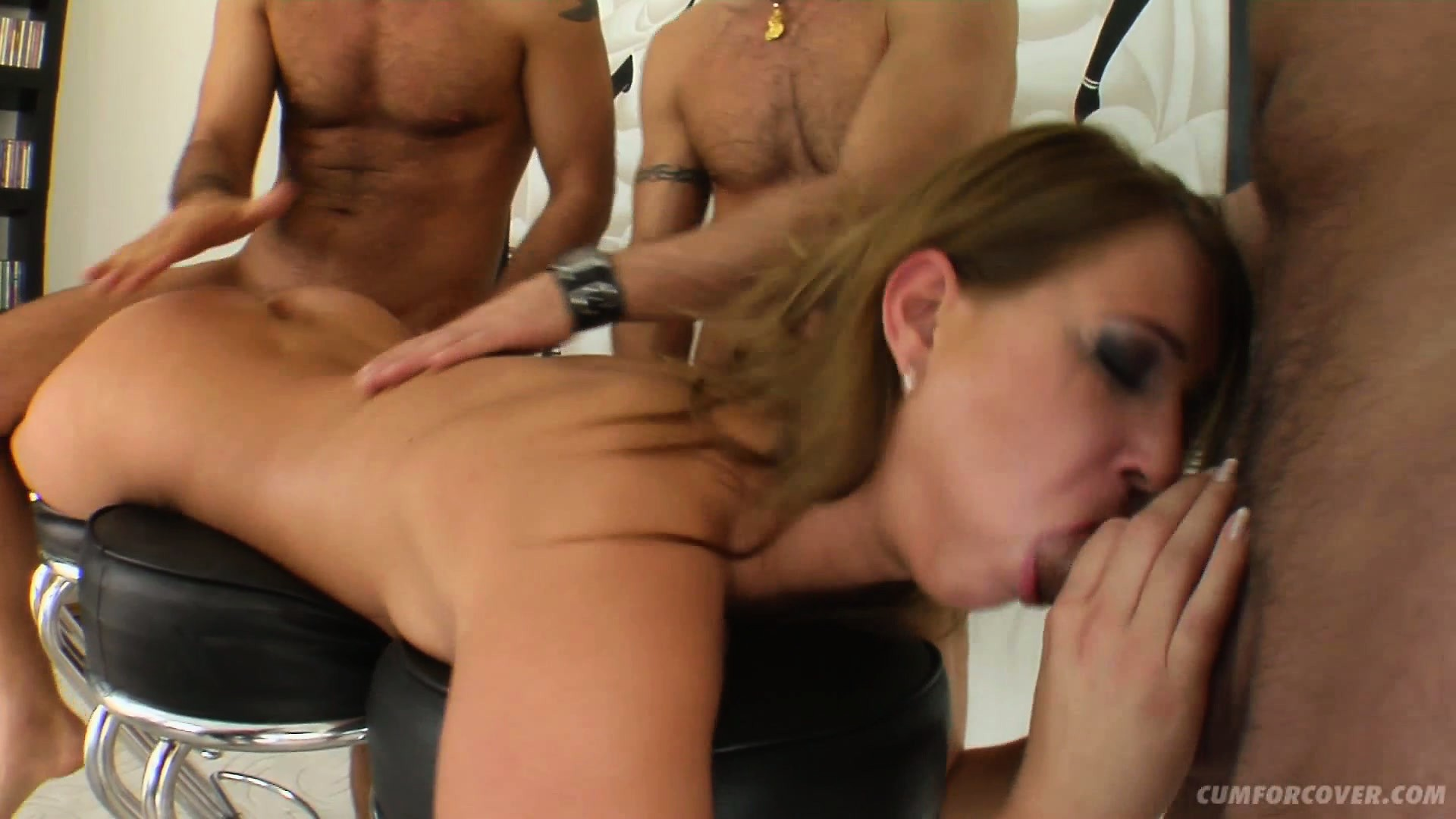 Porno Video of Mel Gets A Rough Face Fucking And Rear Entry In A Horny Gangbang