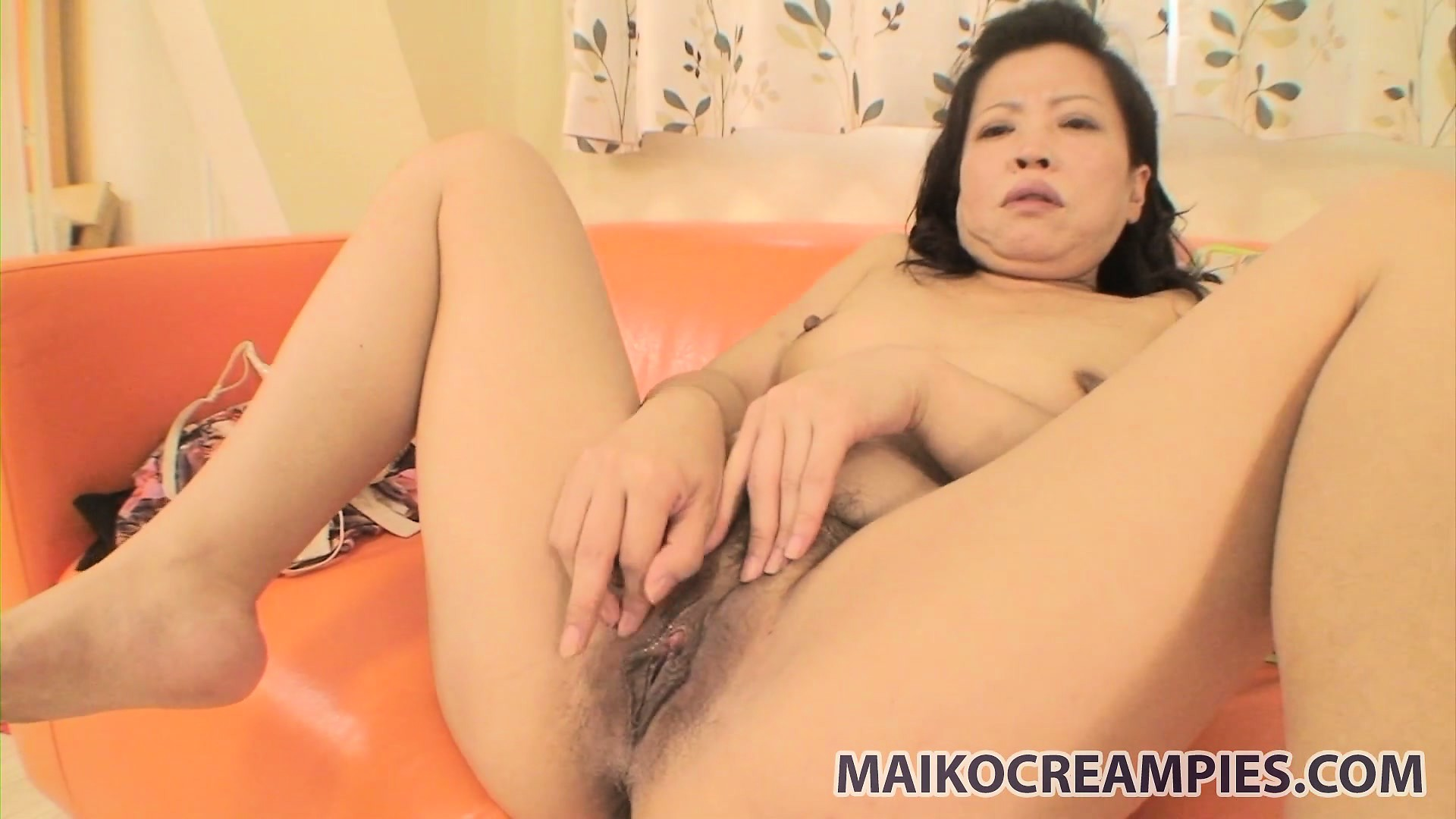 Porno Video of Mature Asian Gal Lets Him Finger Her Hairy Twat And Vibe It With Toys