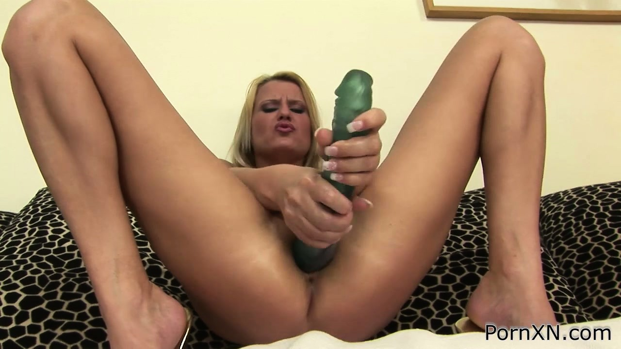 Porn Tube of Beautiful Blonde With A Sexy Ass And Adorable Tits Mira Plays With A Huge Dildo
