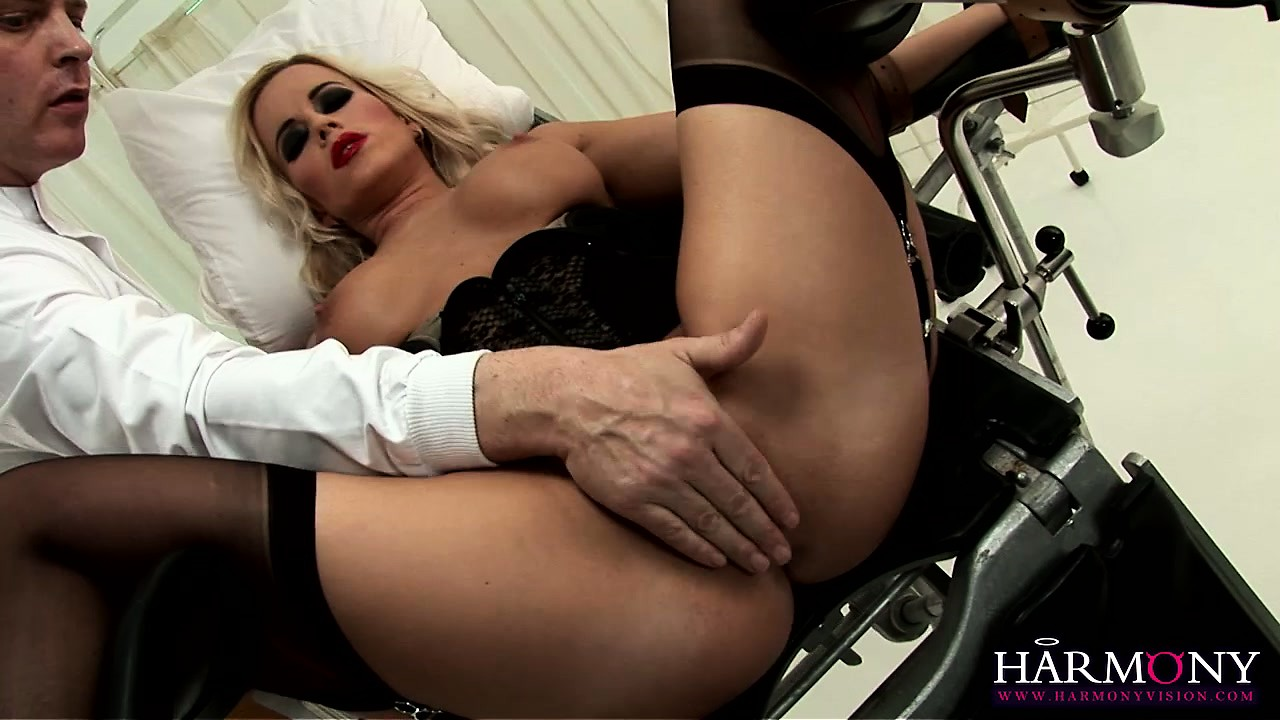 Porno Video of The Hot Nurse Has A Him Licking Her Peach And Sliding His Fingers Deep In It