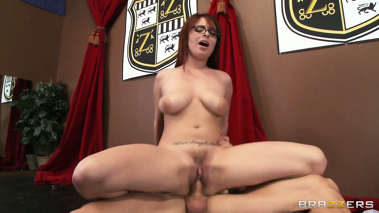 Porn Tube of Tiger Temptress Gobbles A Big Cock And Sits On It, Tits Bouncing