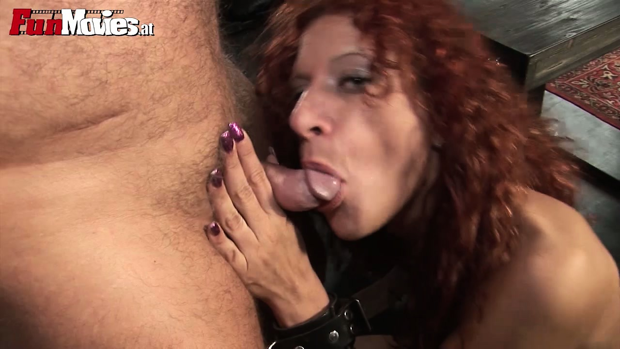 Porno Video of Dude And Mature Wives Are Punished By Their Master And Eat Cock