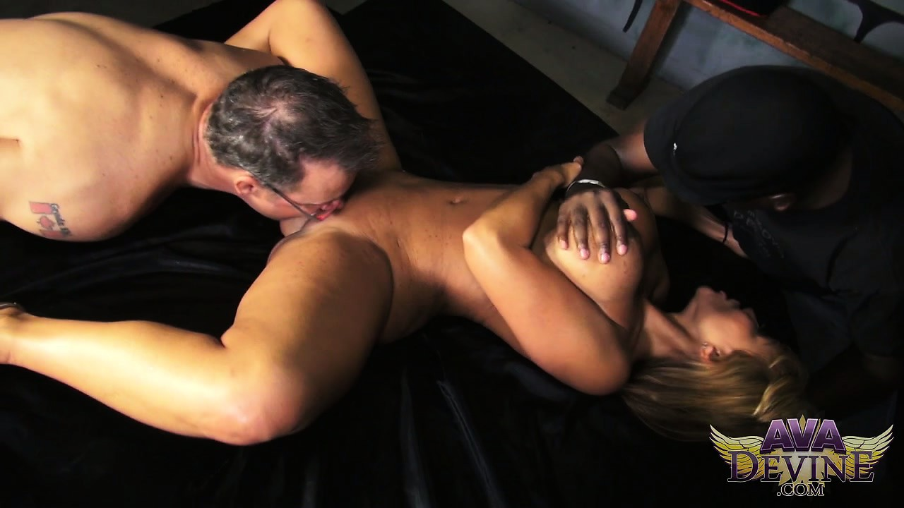 Porno Video of Ava Devine  Uses Her Body To Tease A Couple Of Her Old Friends