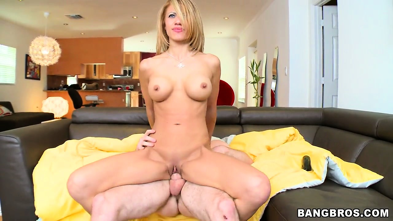Porn Tube of Athletic Milf Jandi Jenner Riding A Young Dude's Cock In The Sofa
